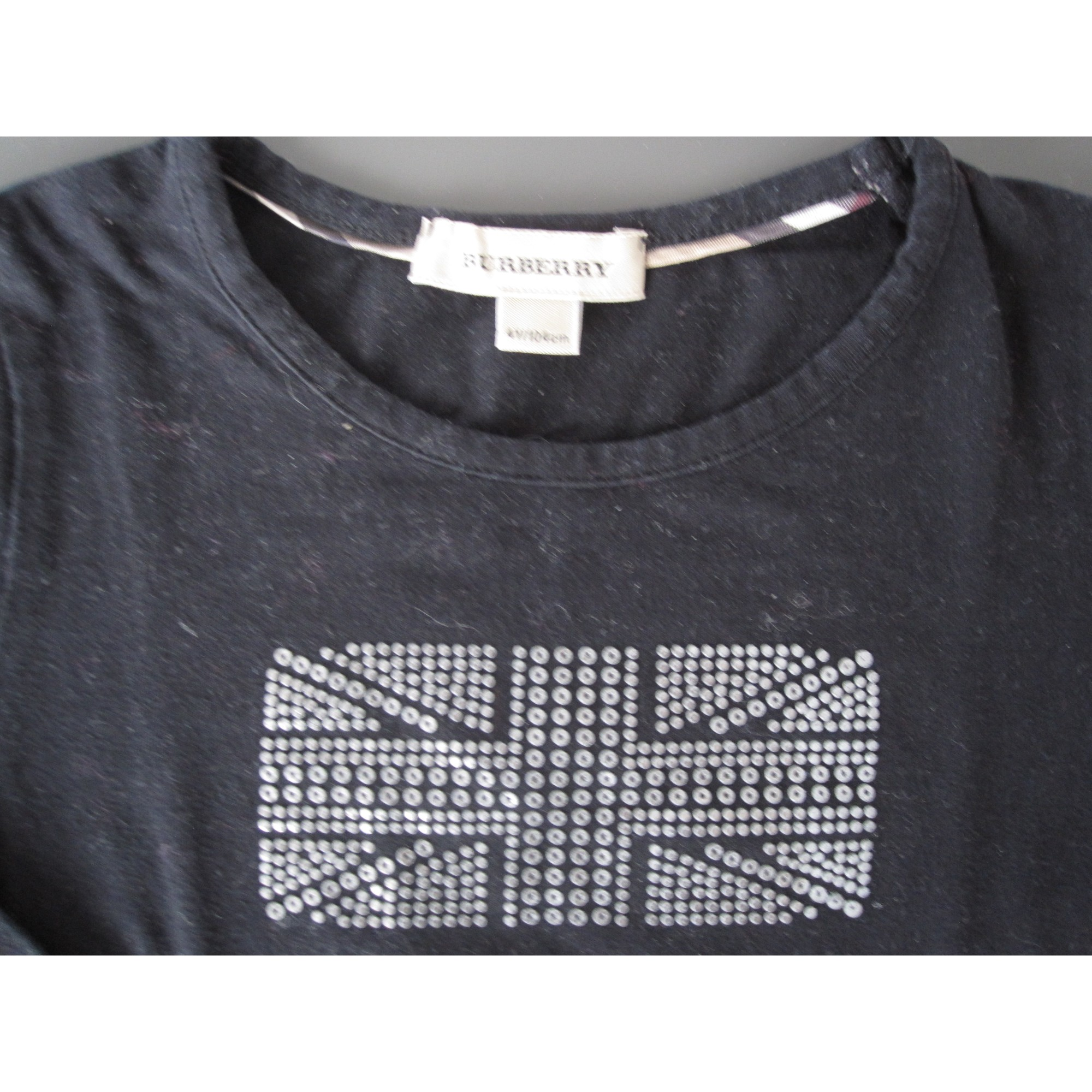 Top, Tee-shirt BURBERRY Noir