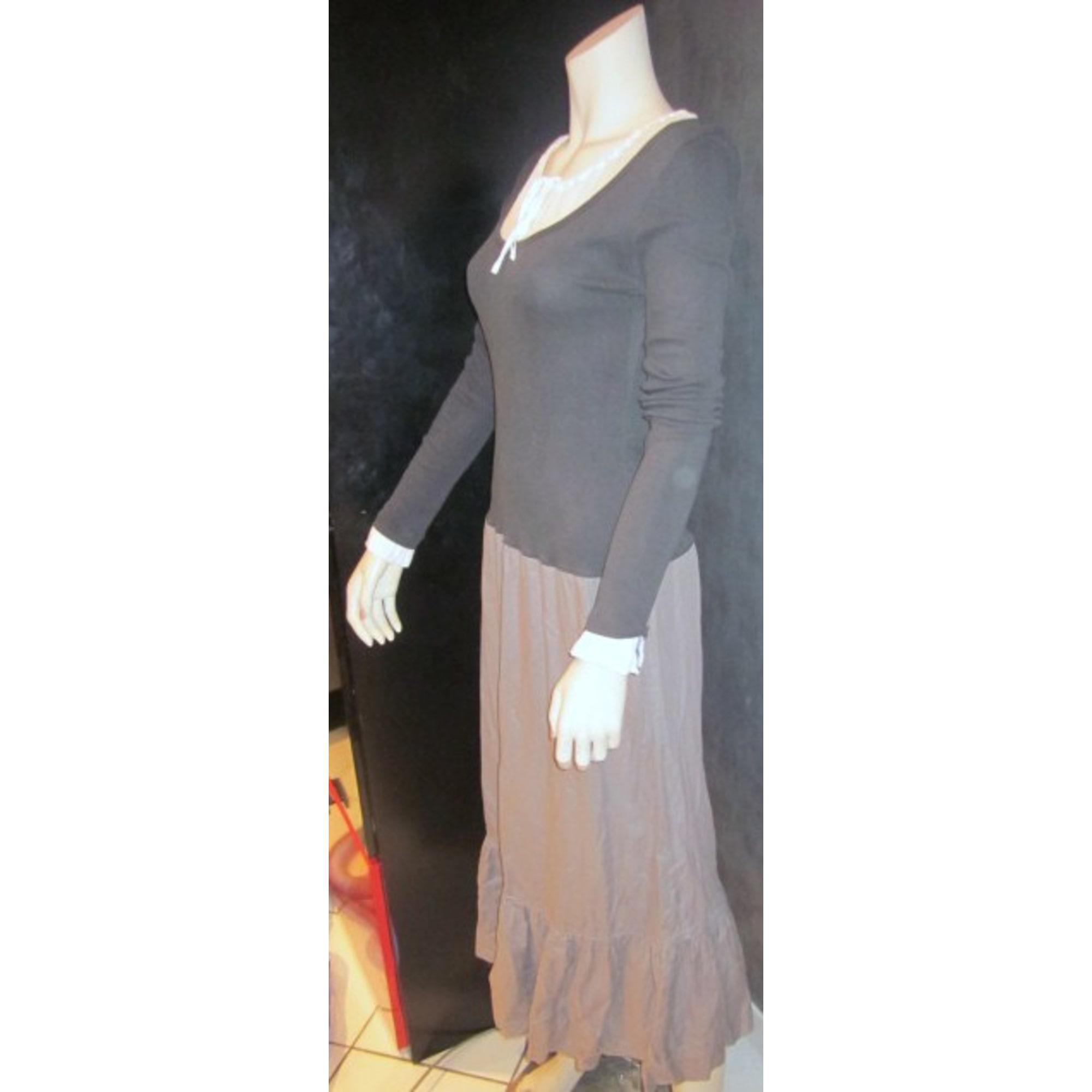 Robe longue COP-COPINE Marron