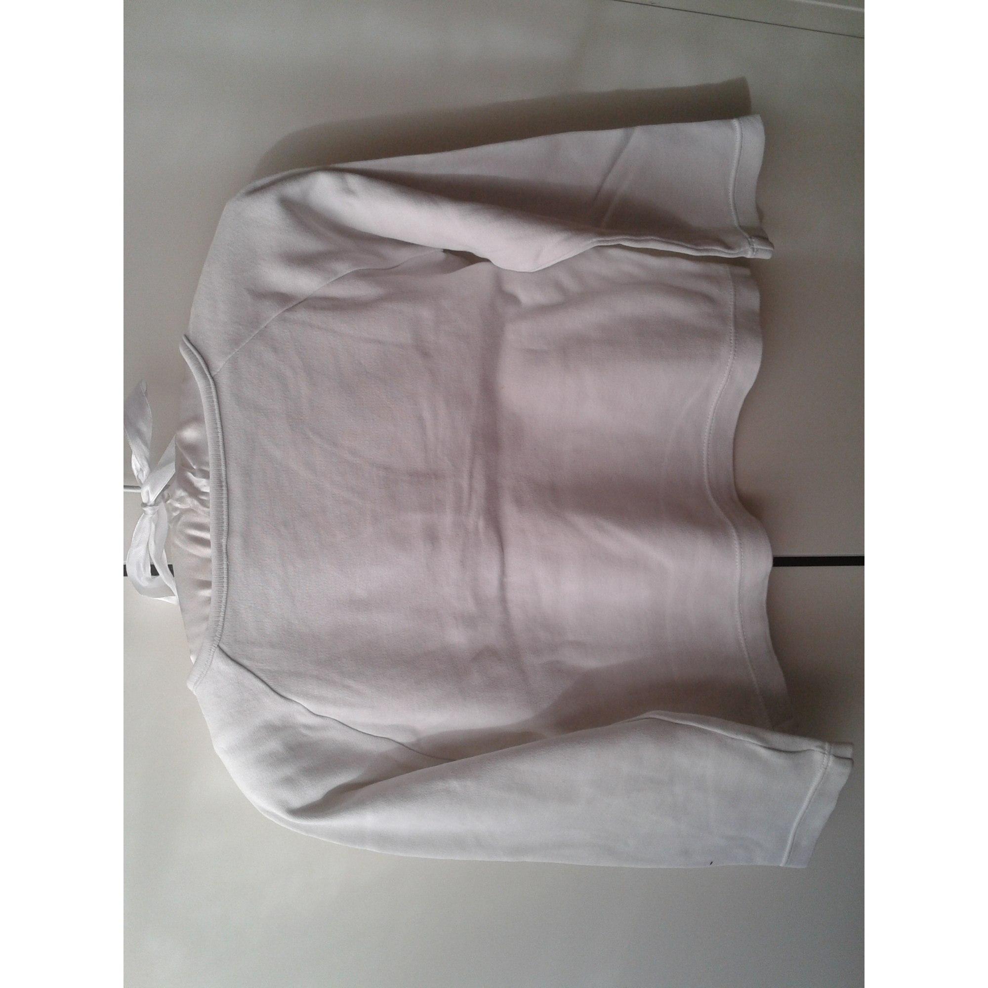Tee-shirt JACADI Blanc, blanc cassé, écru