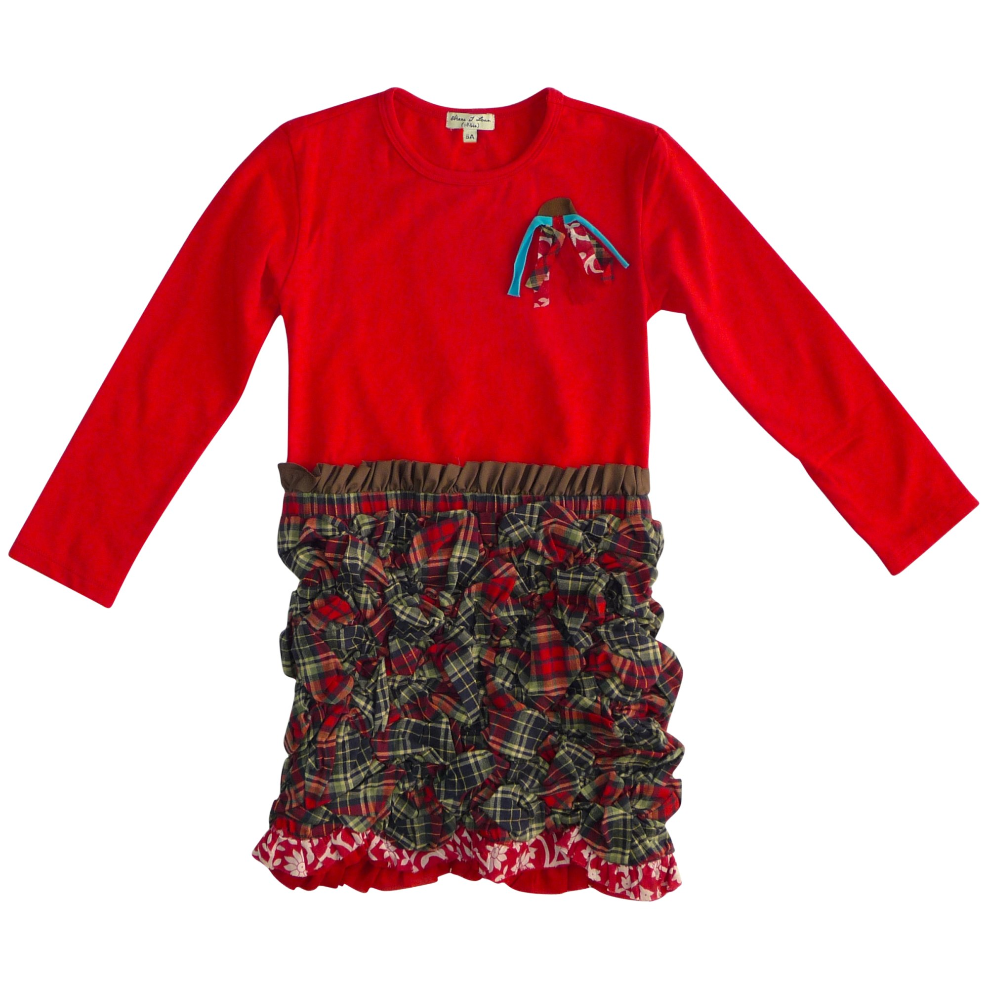 Dress ELIANE ET LENA Red, burgundy