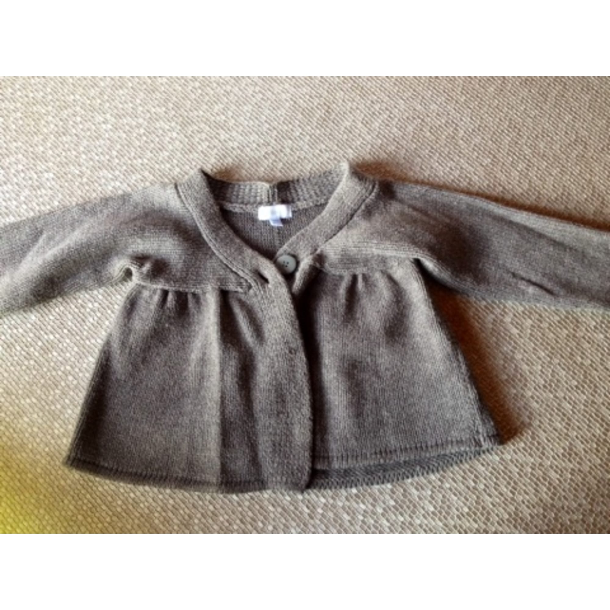 Gilet, cardigan TEX BABY Gris, anthracite