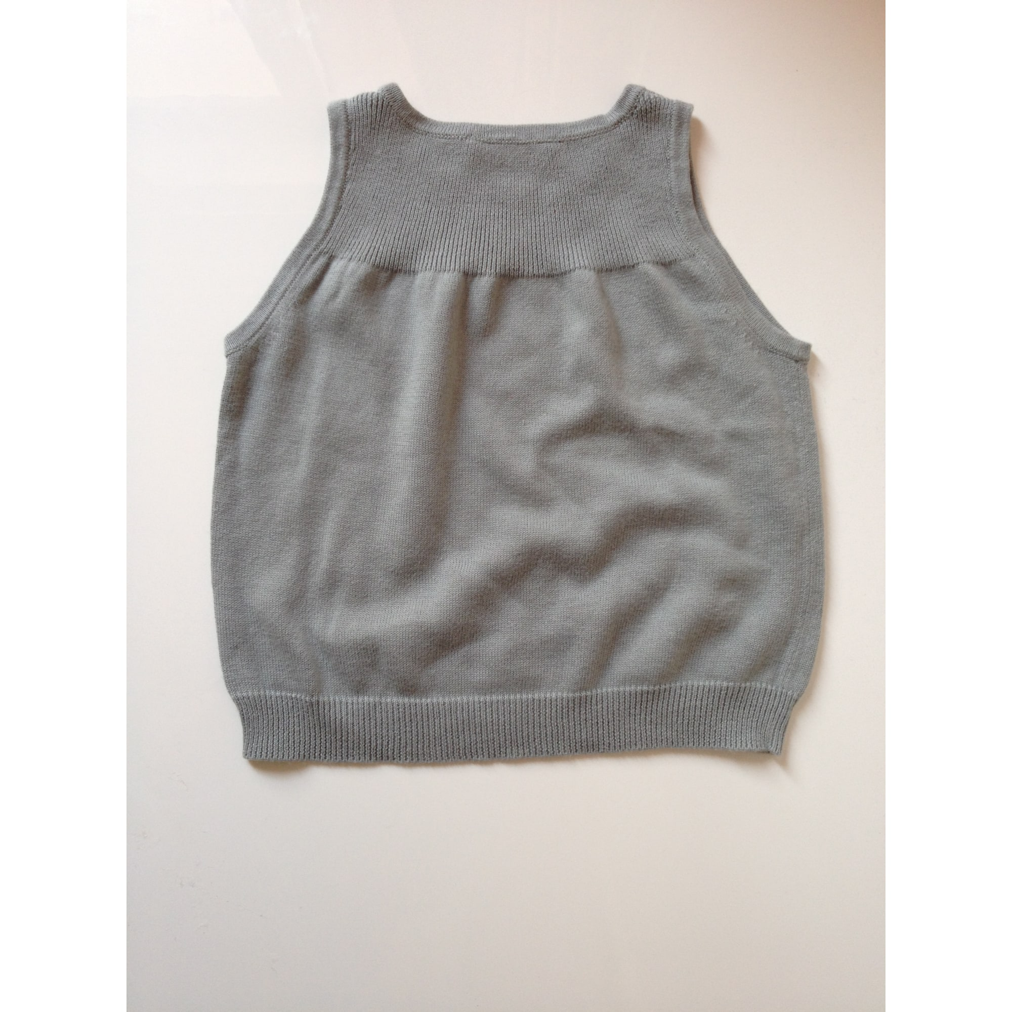Top, Tee-shirt BONPOINT Gris, anthracite