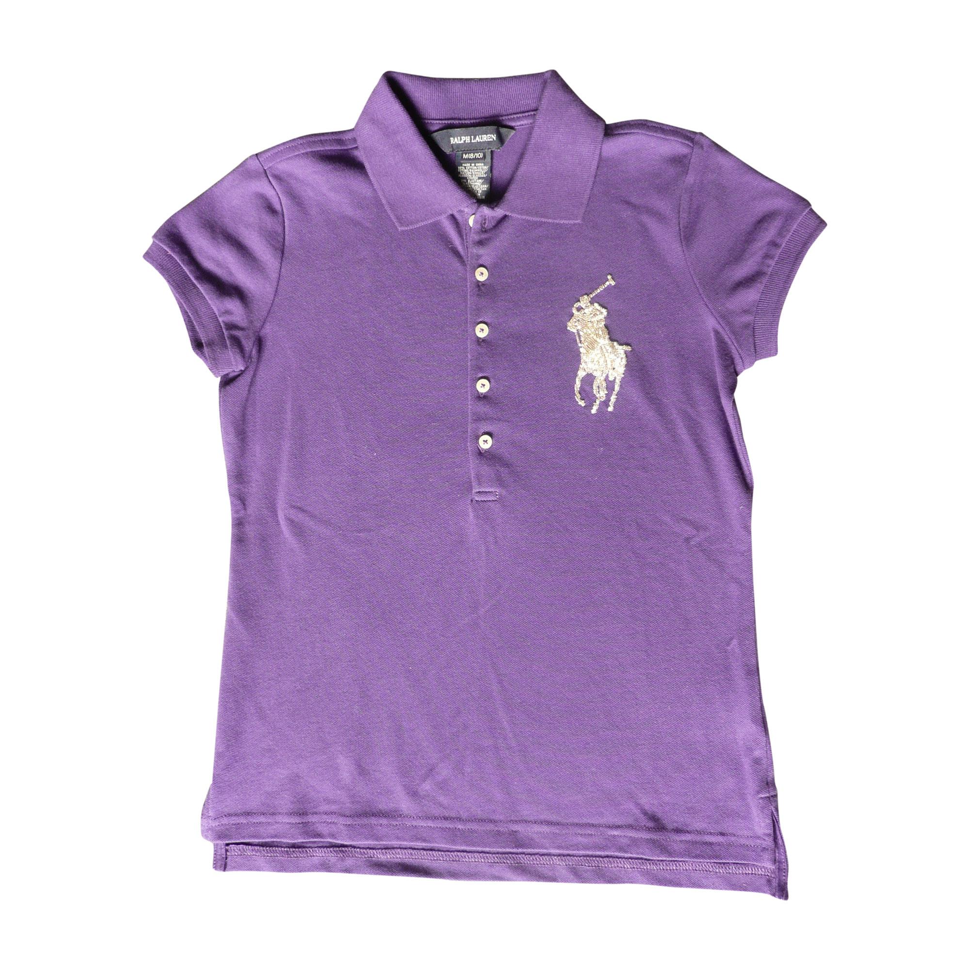 Polo RALPH LAUREN Violet, mauve, lavande