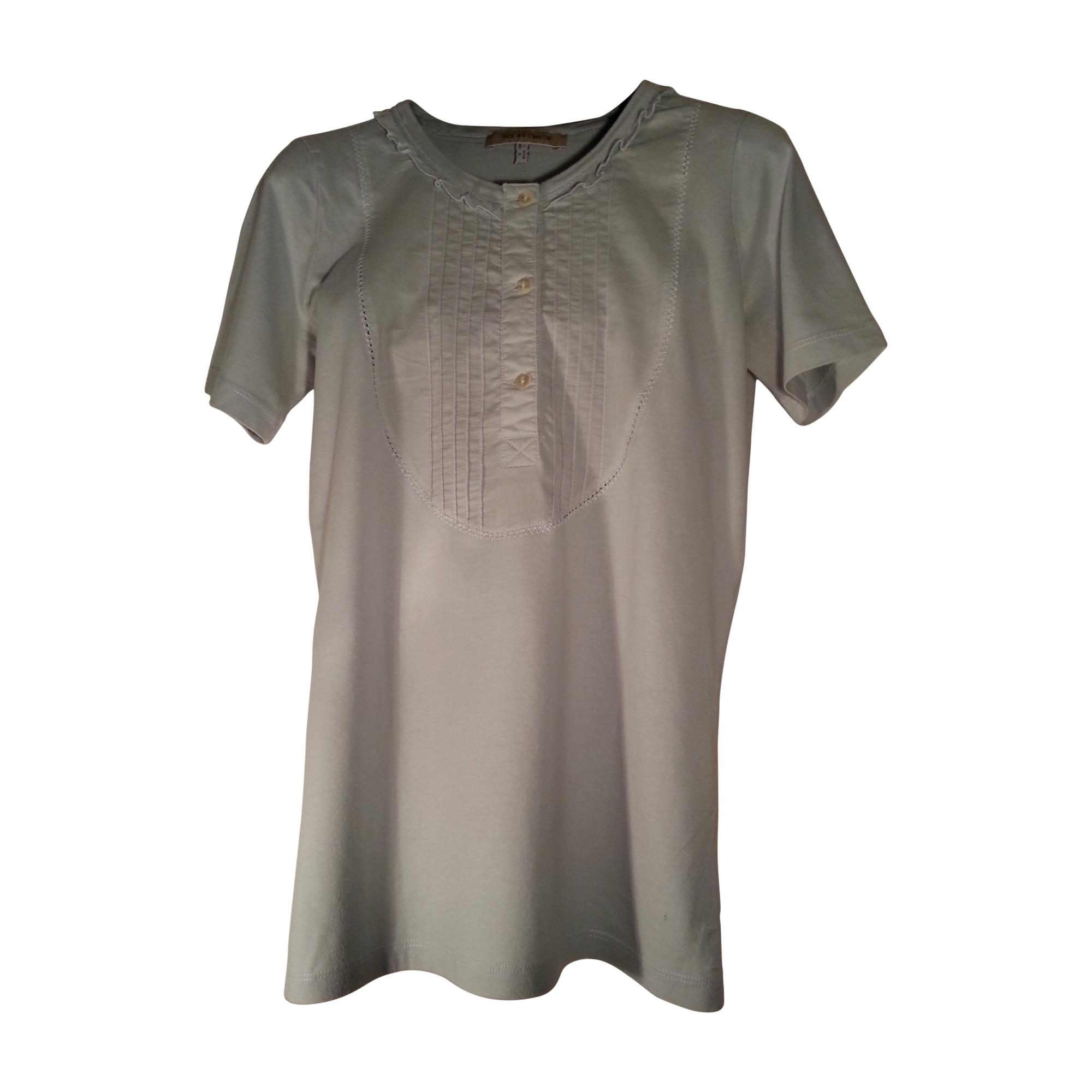 Top, tee-shirt SEE BY CHLOE Bleu, bleu marine, bleu turquoise