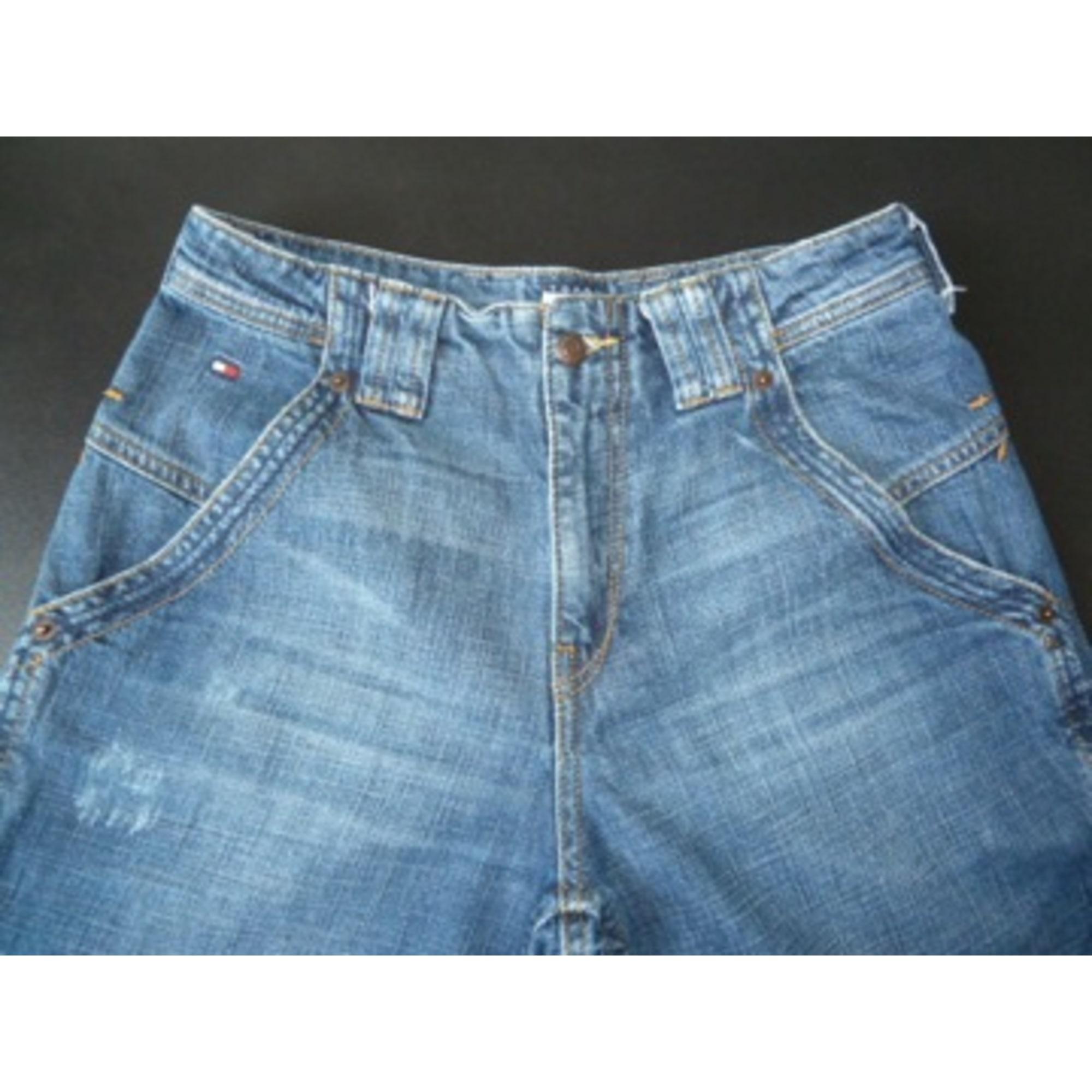 Jeans large, boyfriend TOMMY HILFIGER Bleu, bleu marine, bleu turquoise