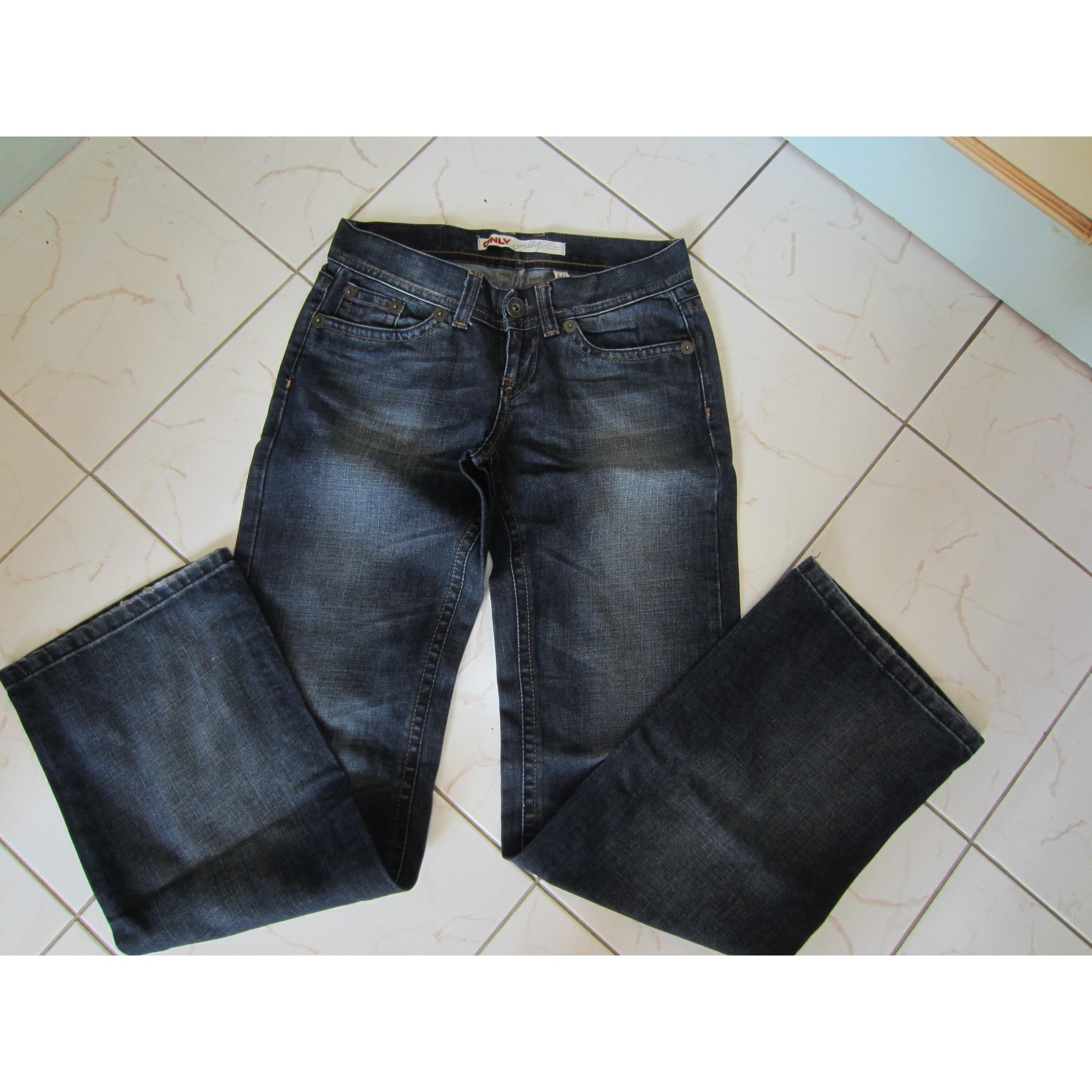 Jeans évasé, boot-cut ONLY Bleu, bleu marine, bleu turquoise