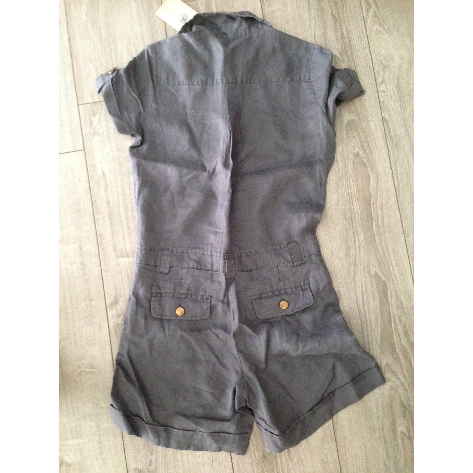 Salopette short BEST MOUNTAIN Gris, anthracite