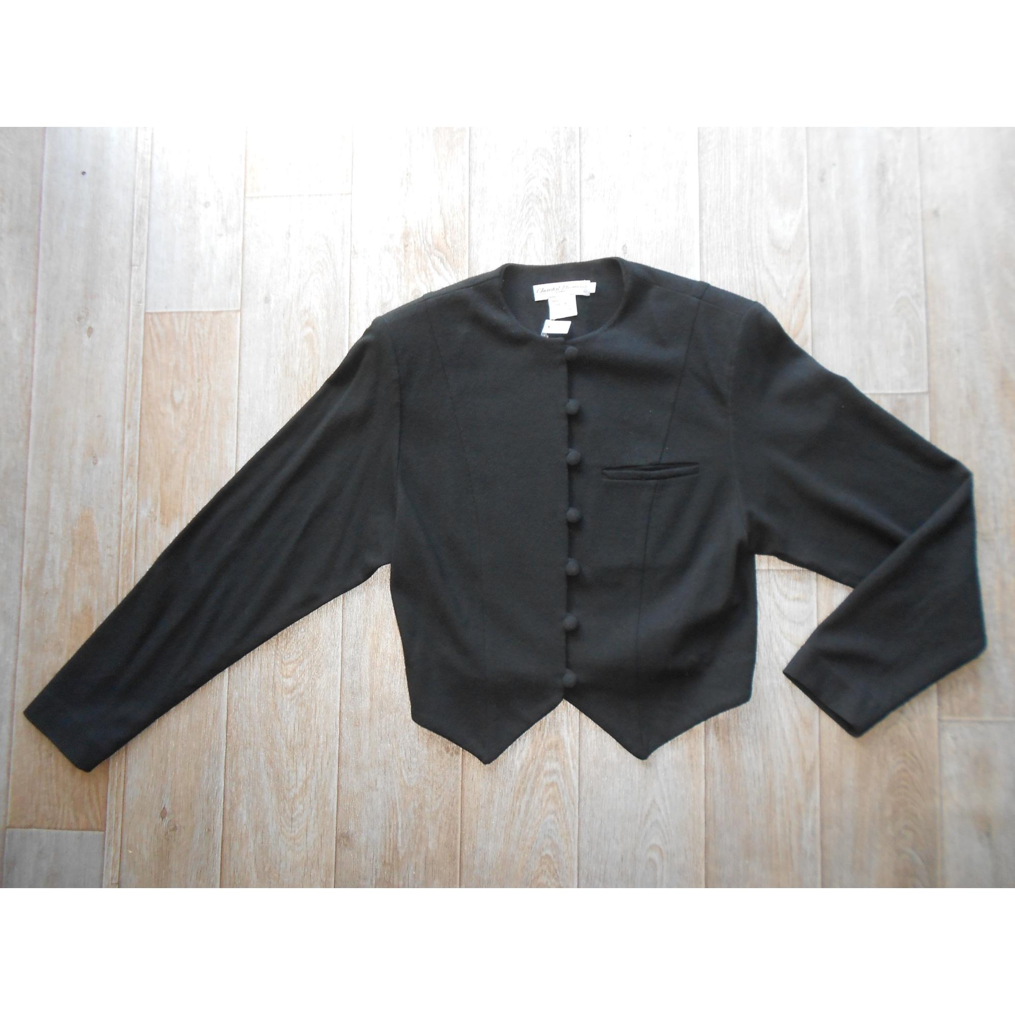 Tailleur jupe CHANTAL THOMASS Noir