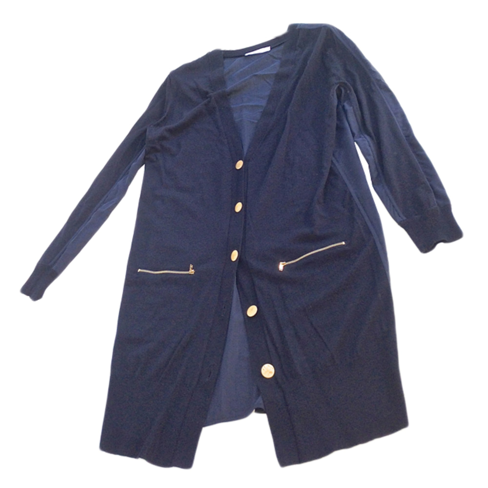 Robe pull NICOLE FAHRI Bleu, bleu marine, bleu turquoise
