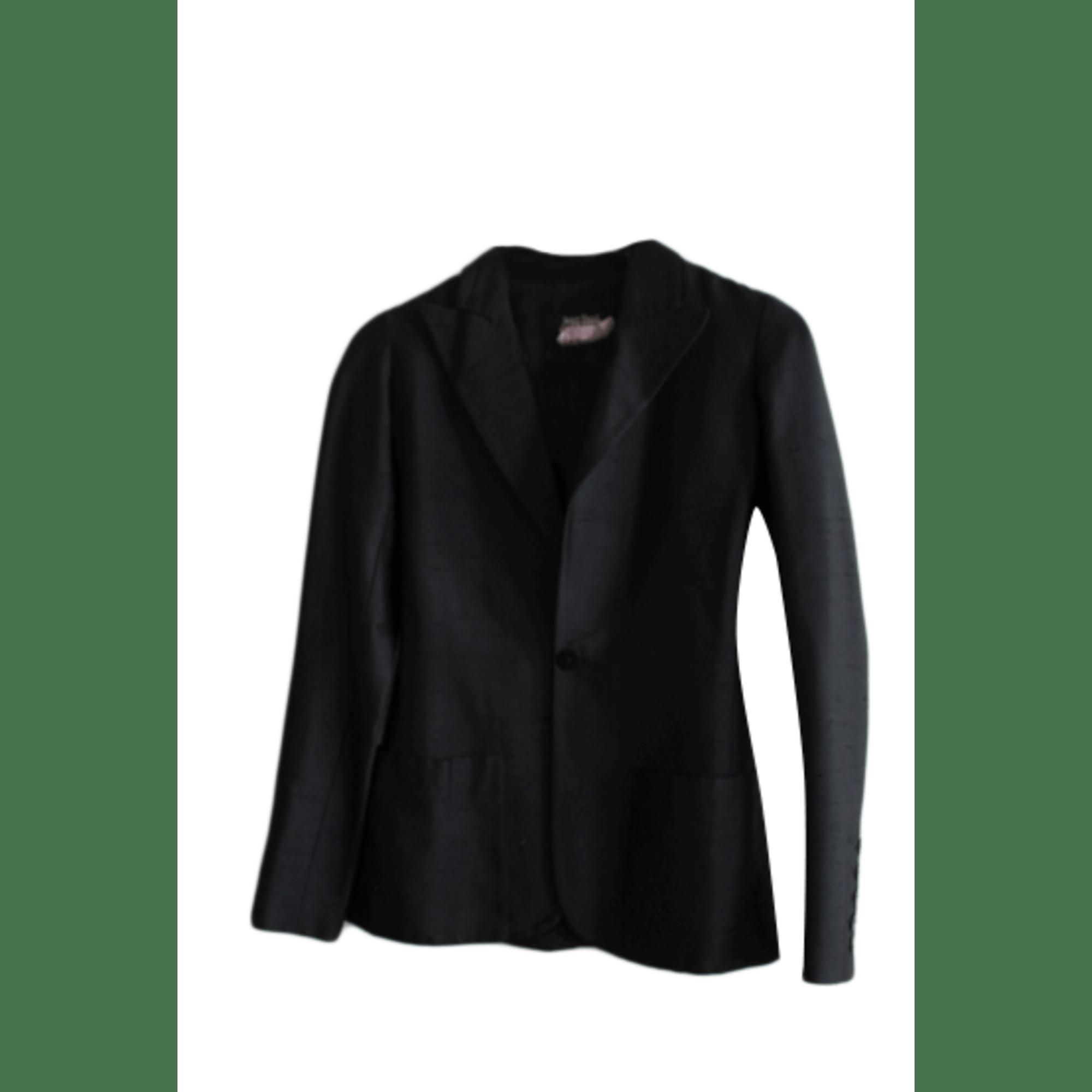 Blazer, veste tailleur JEAN PAUL GAULTIER Noir