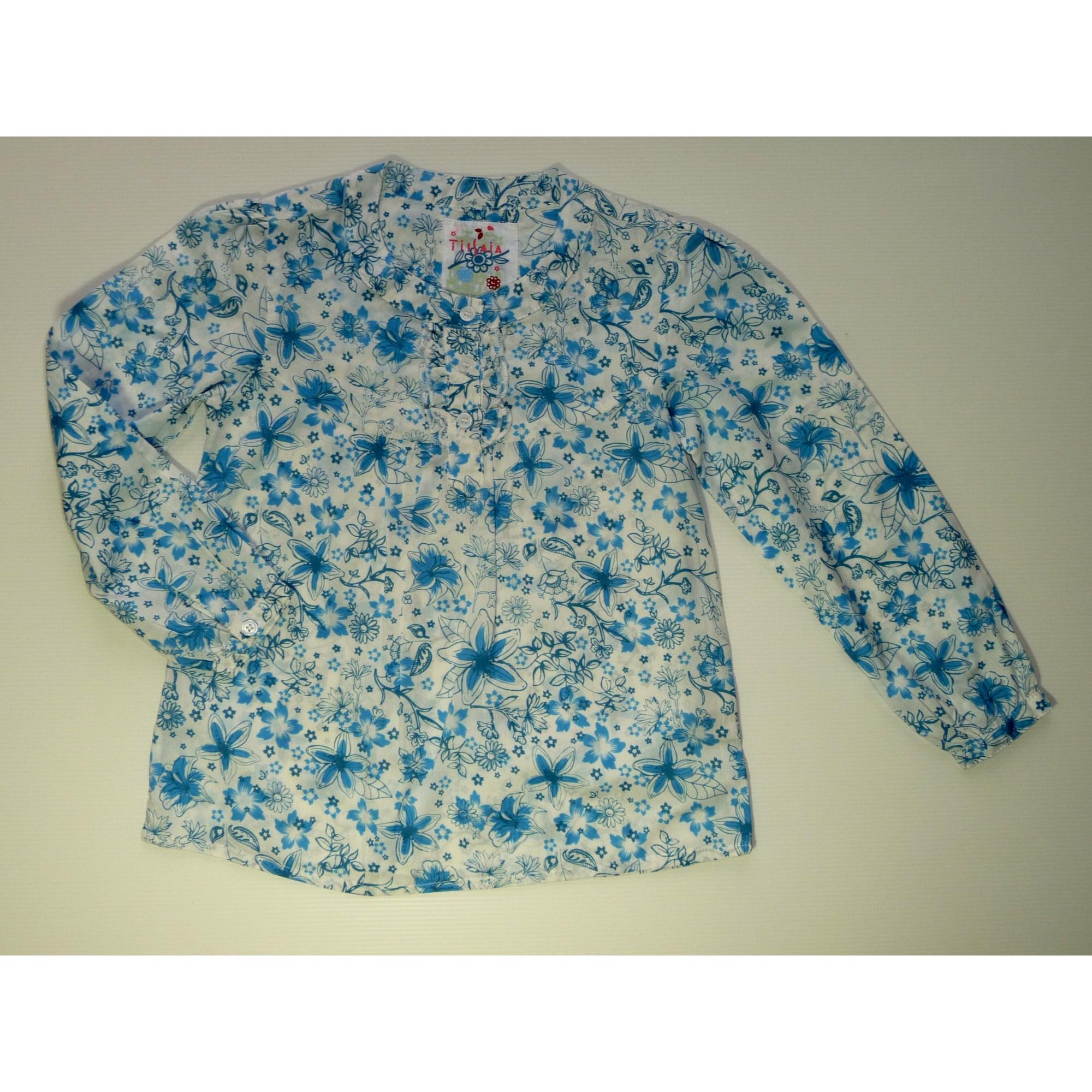Chemisier TISSAIA Bleu, bleu marine, bleu turquoise