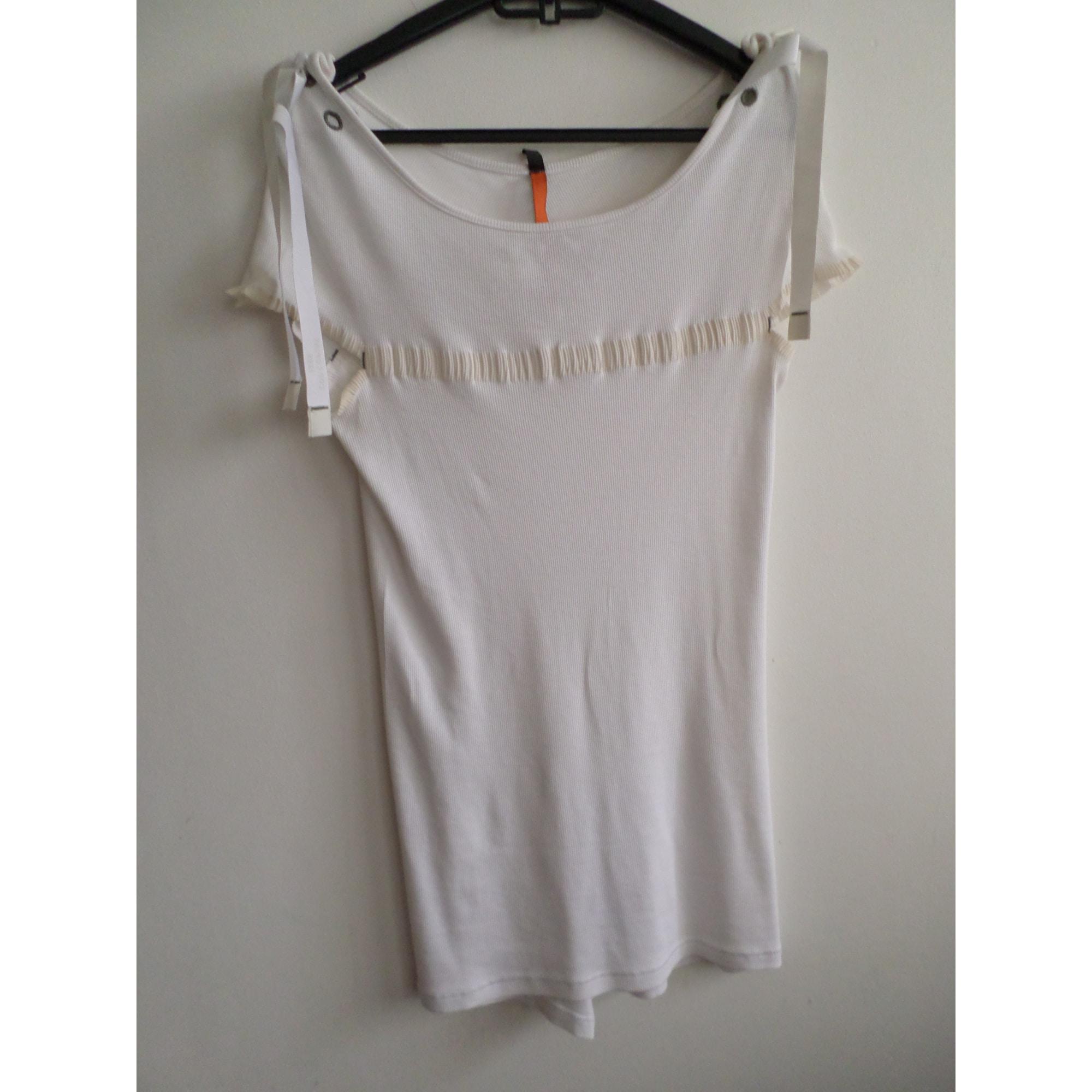 Top, tee-shirt COP-COPINE Blanc, blanc cassé, écru