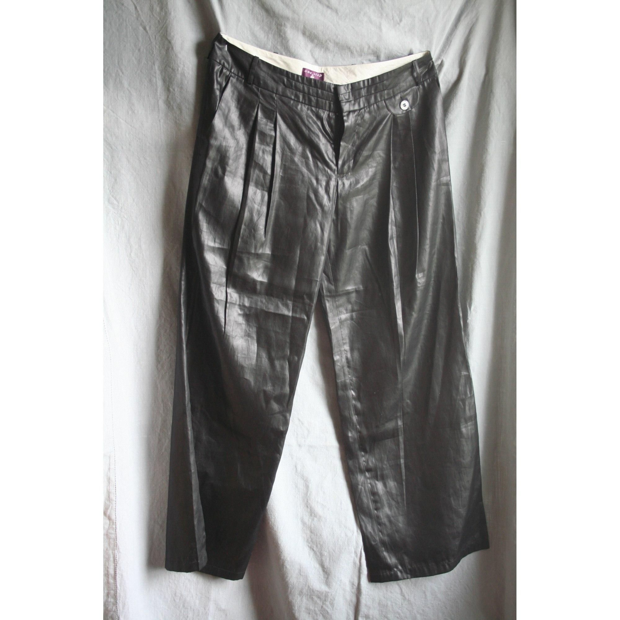 Pantalon large ONE STEP Noir