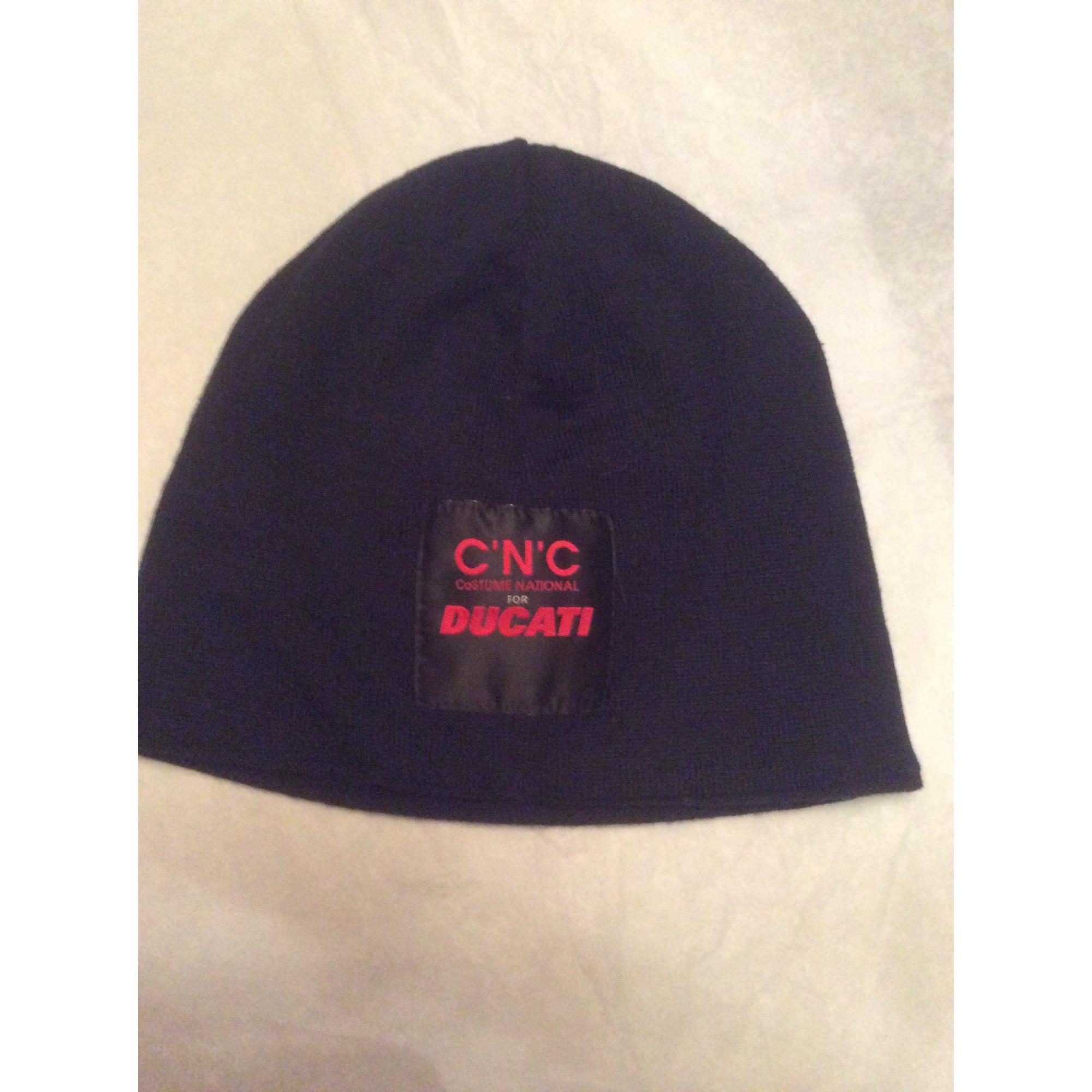 Bonnet CNC COSTUME NATIONAL Noir