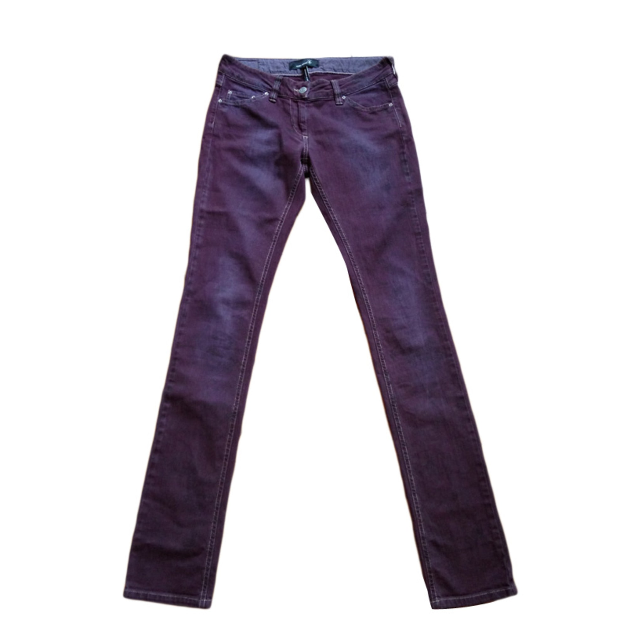 Jeans slim ISABEL MARANT prune