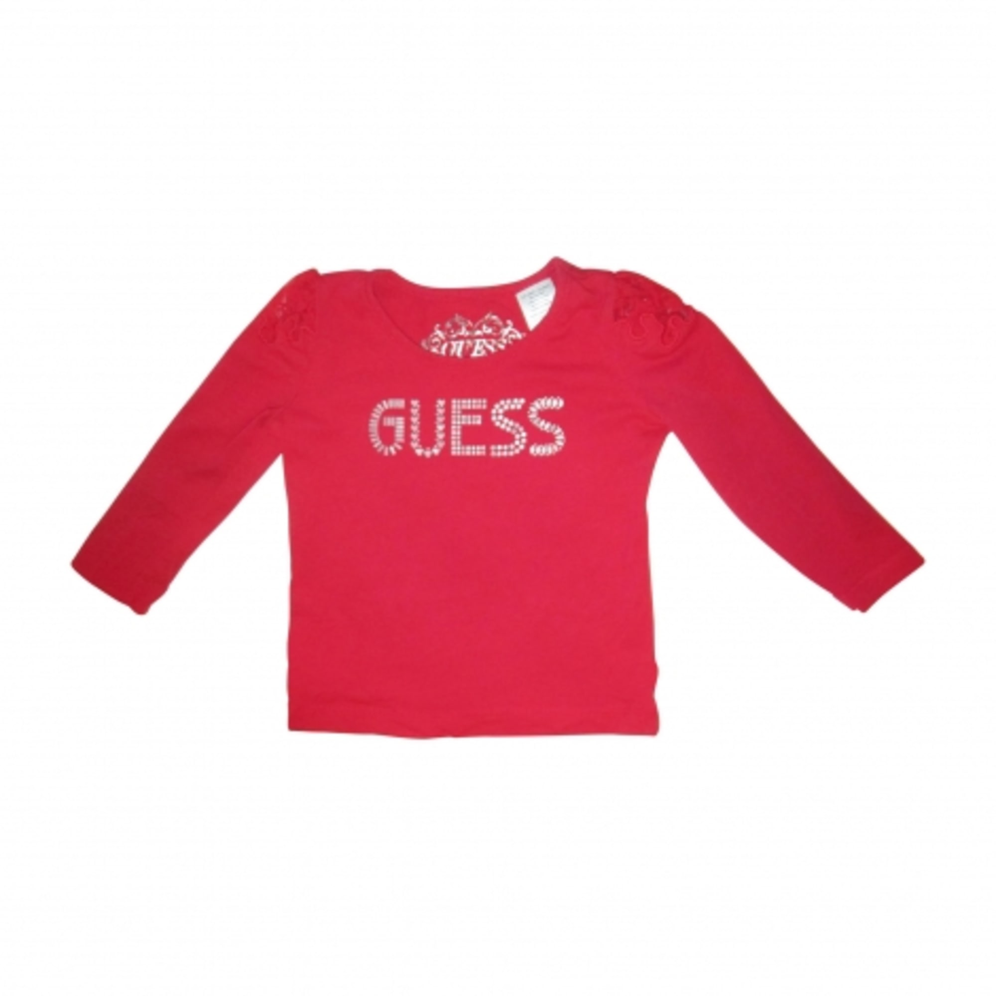 Top, Tee-shirt GUESS Rouge, bordeaux