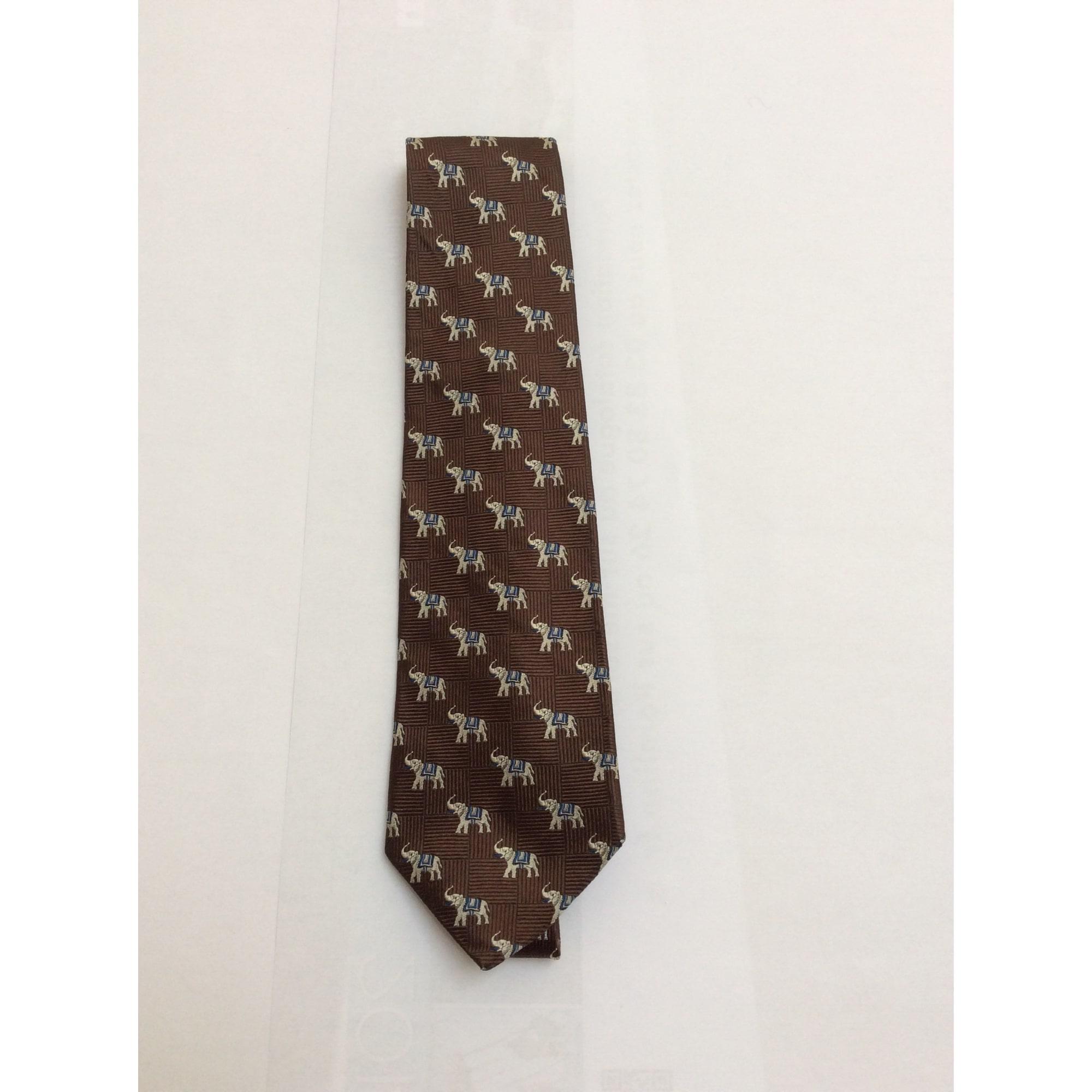 Cravate FAÇONNABLE Marron