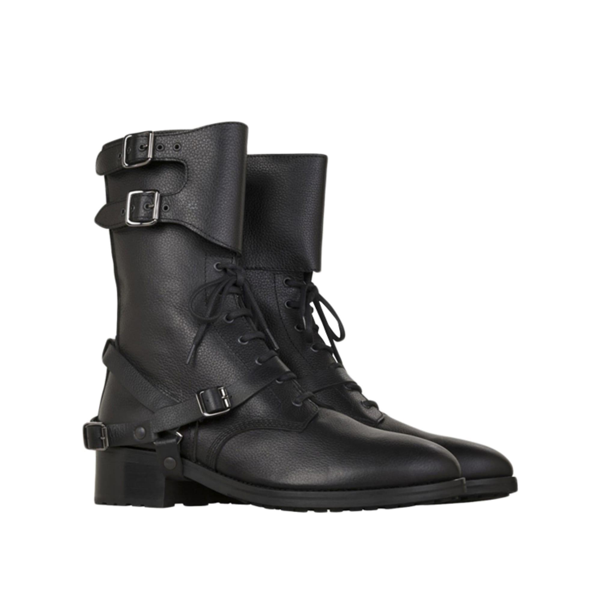 Bottines & low boots motards THE KOOPLES 37 noir 3281485