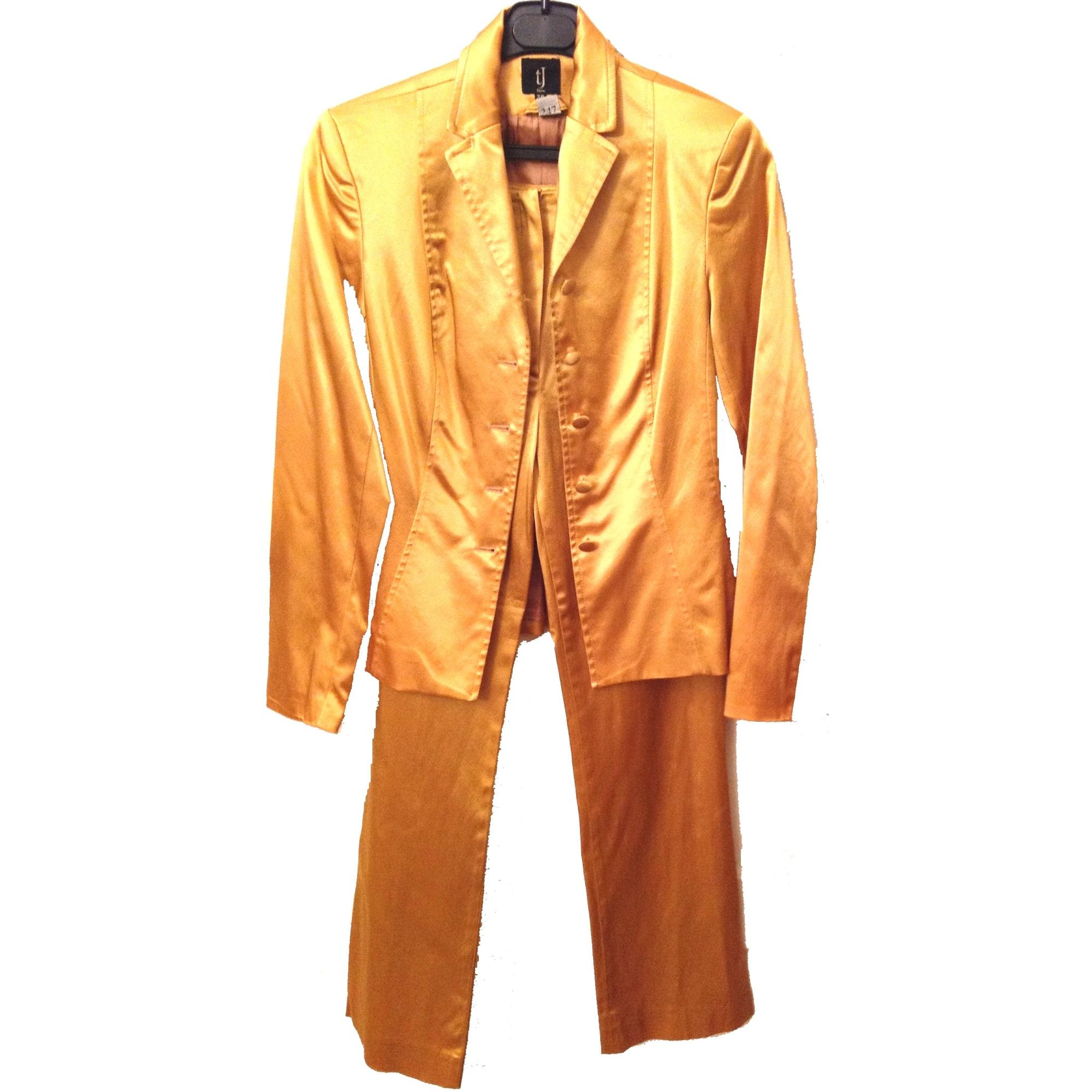 Tailleur pantalon TARA JARMON Doré, bronze, cuivre