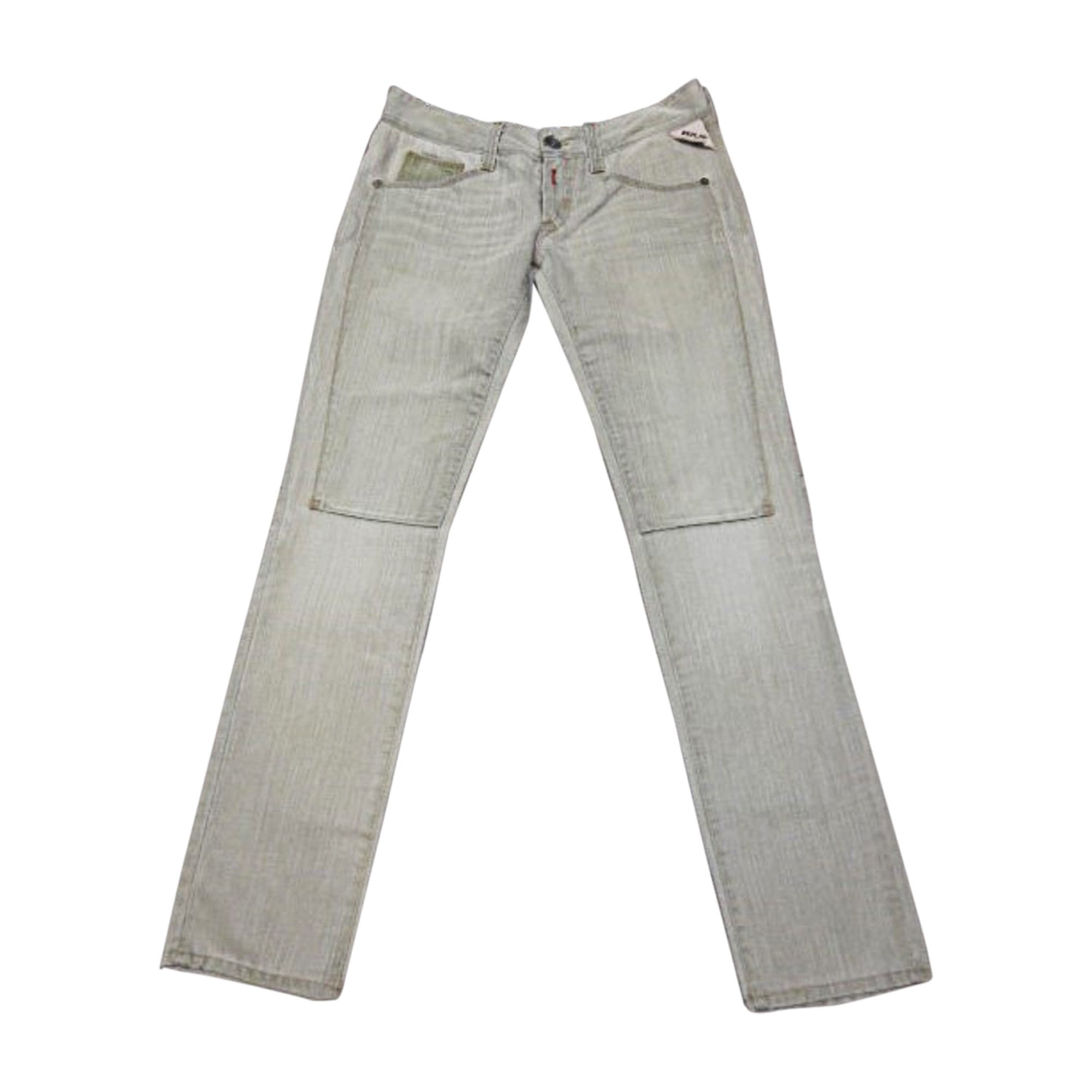 Jeans droit REPLAY Vert