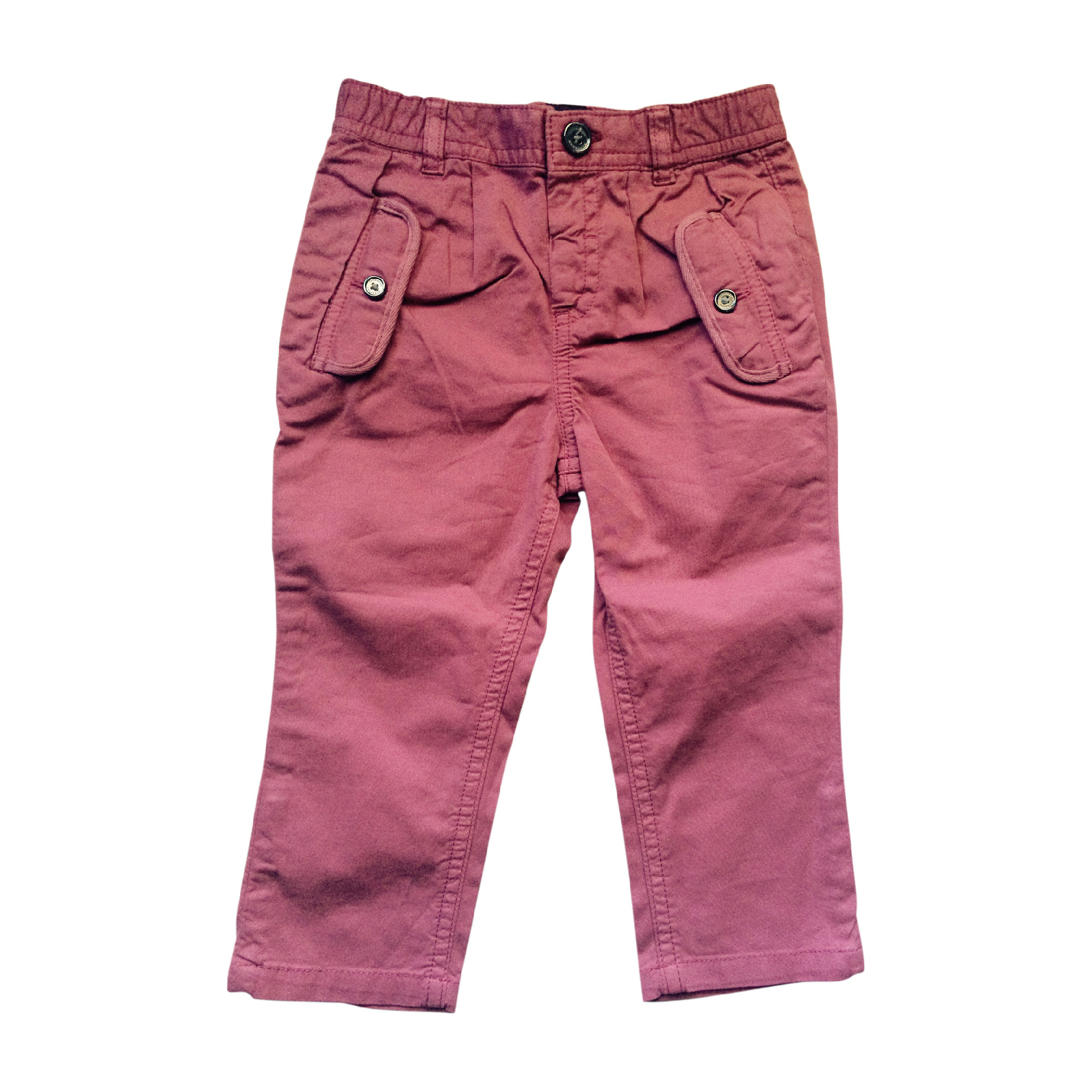 Pantalon BURBERRY Rose, fuschia, vieux rose