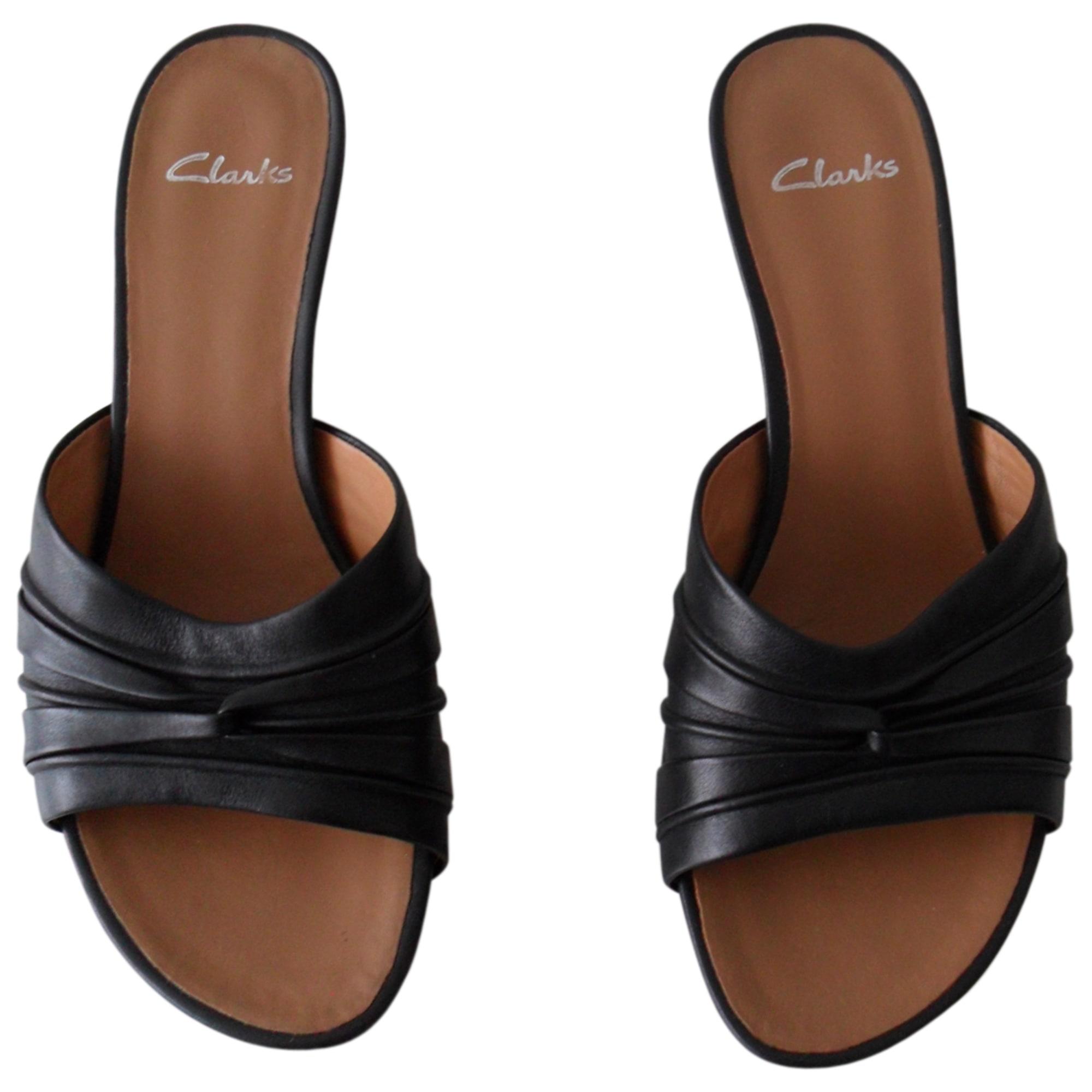 Sandales à talons CLARKS Noir