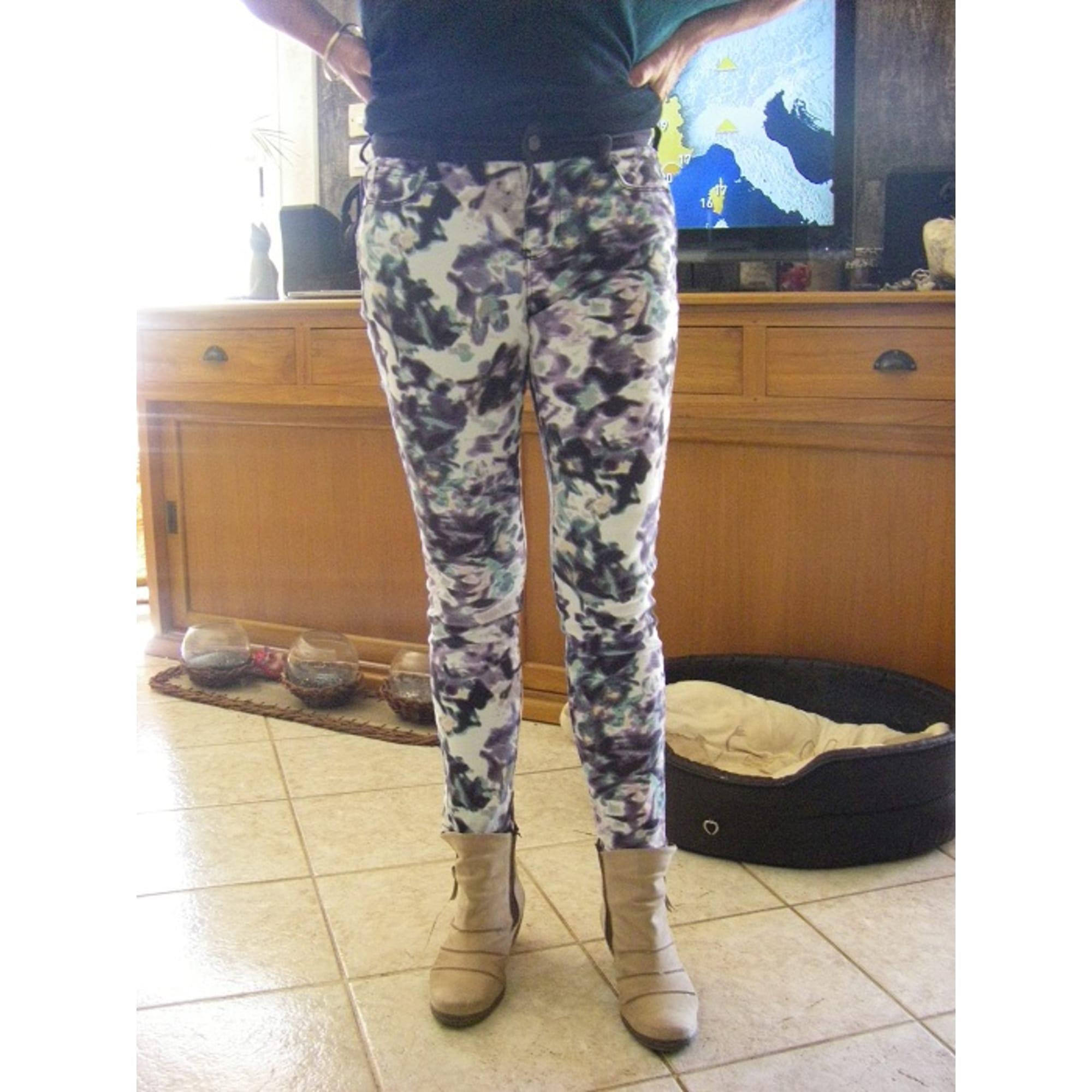 Pantalon slim, cigarette DKNY JEANS Multicouleur