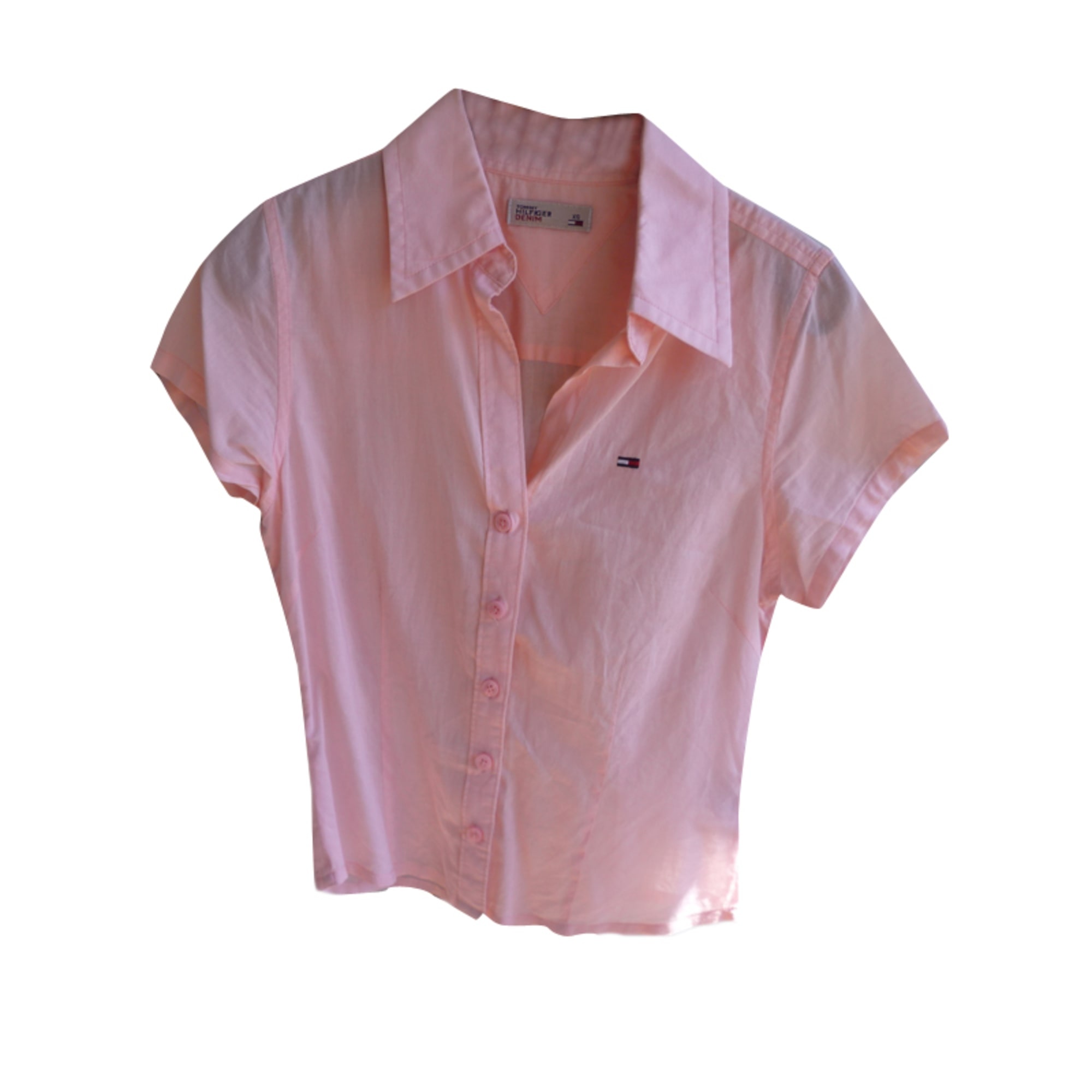 Chemise TOMMY HILFIGER Rose, fuschia, vieux rose