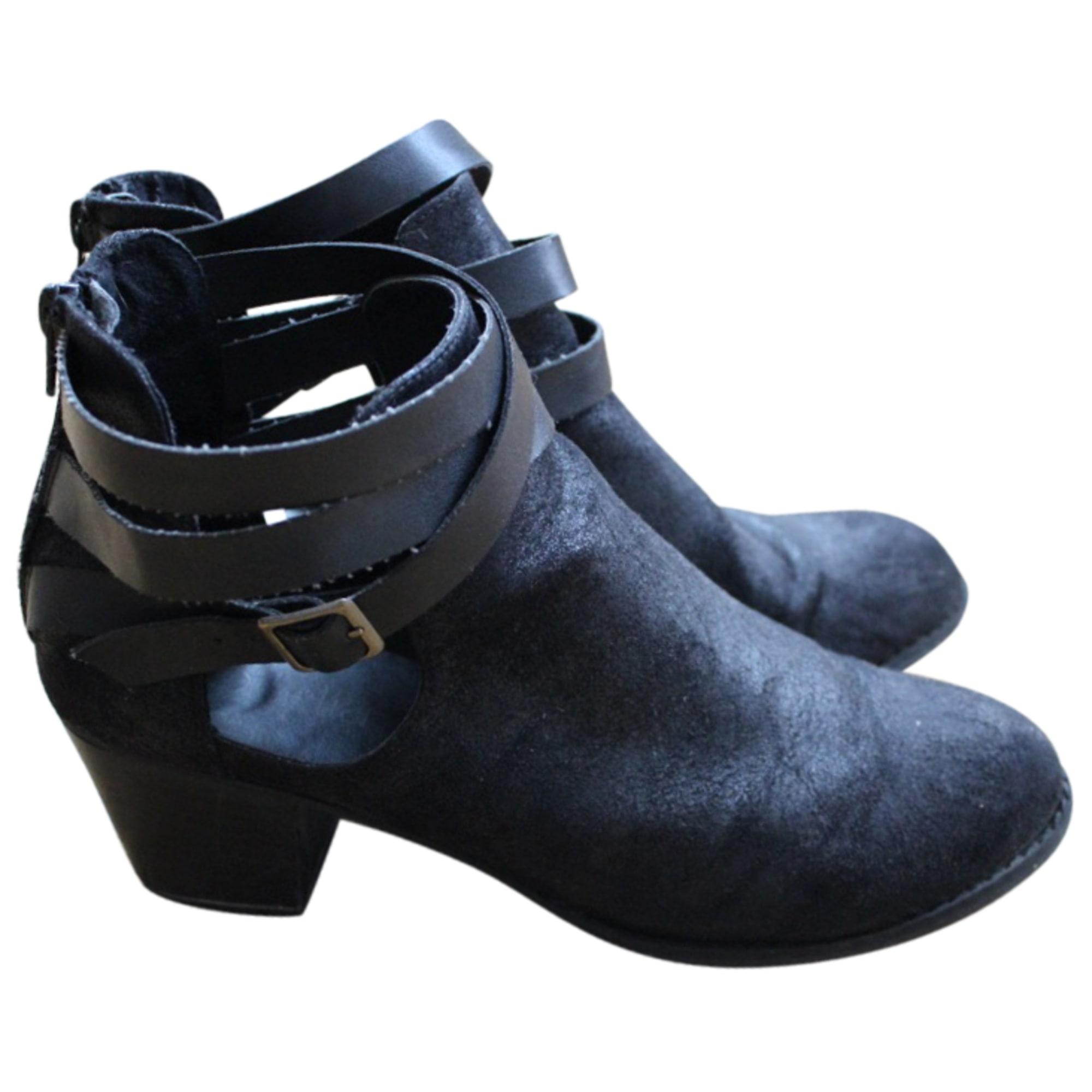 Bottines & low boots à talons URBAN OUTFITTERS Noir