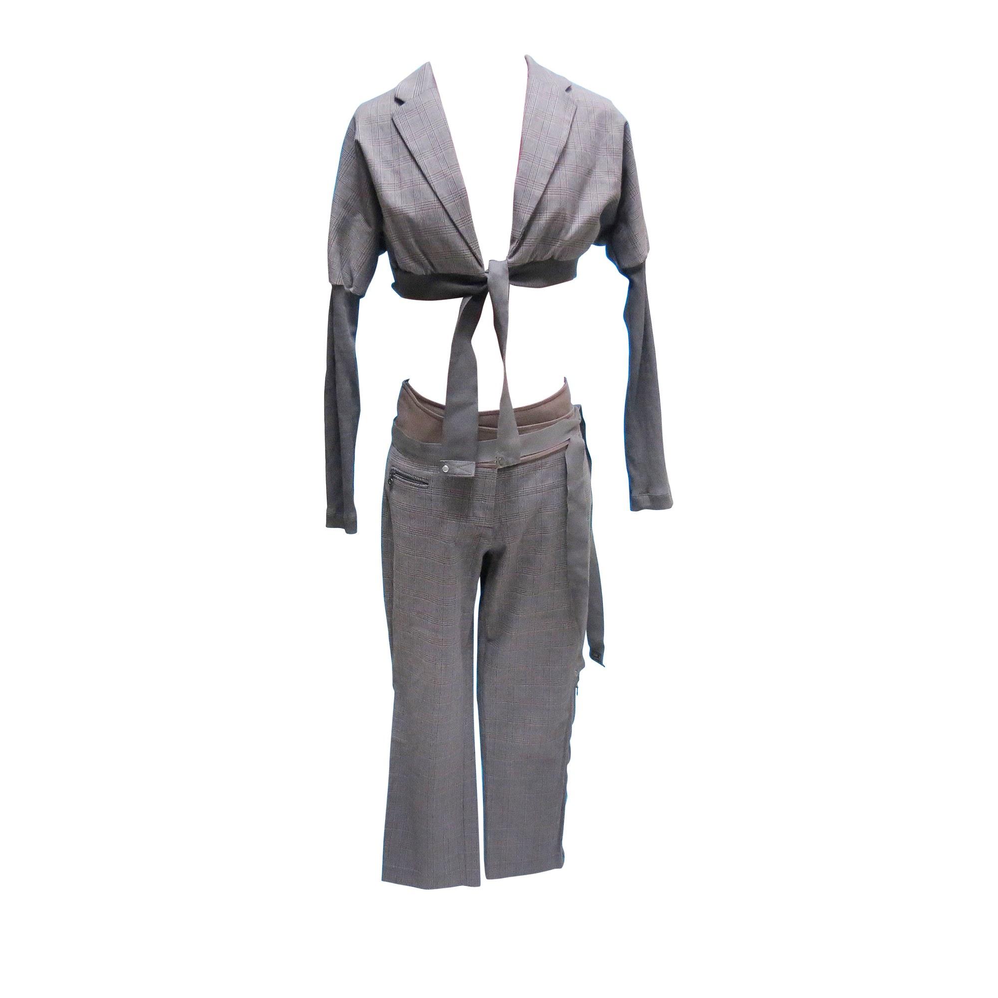 Tailleur pantalon COP-COPINE Marron
