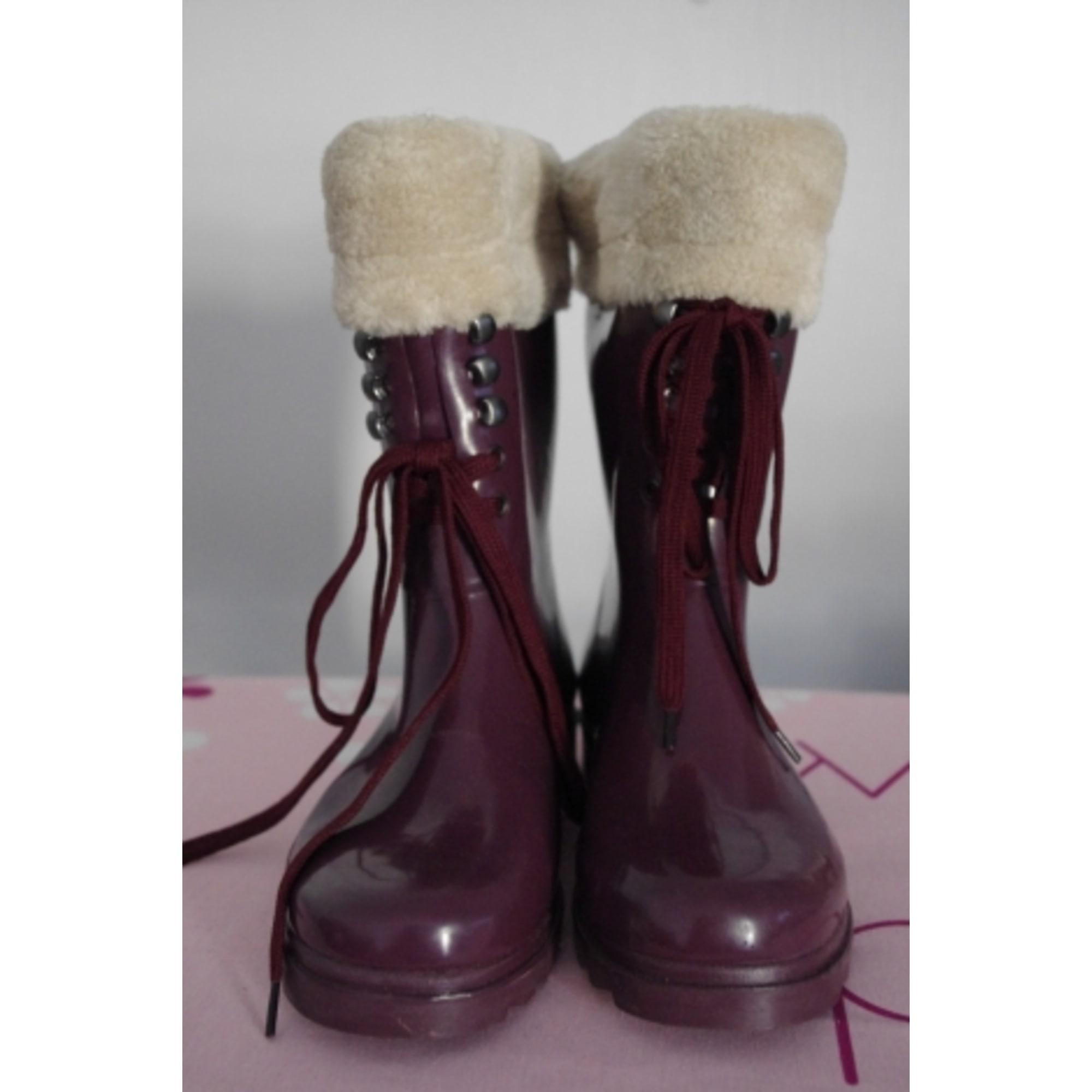 Bottes de pluie ALDO 39 violet vendu par Ernestina 3649803