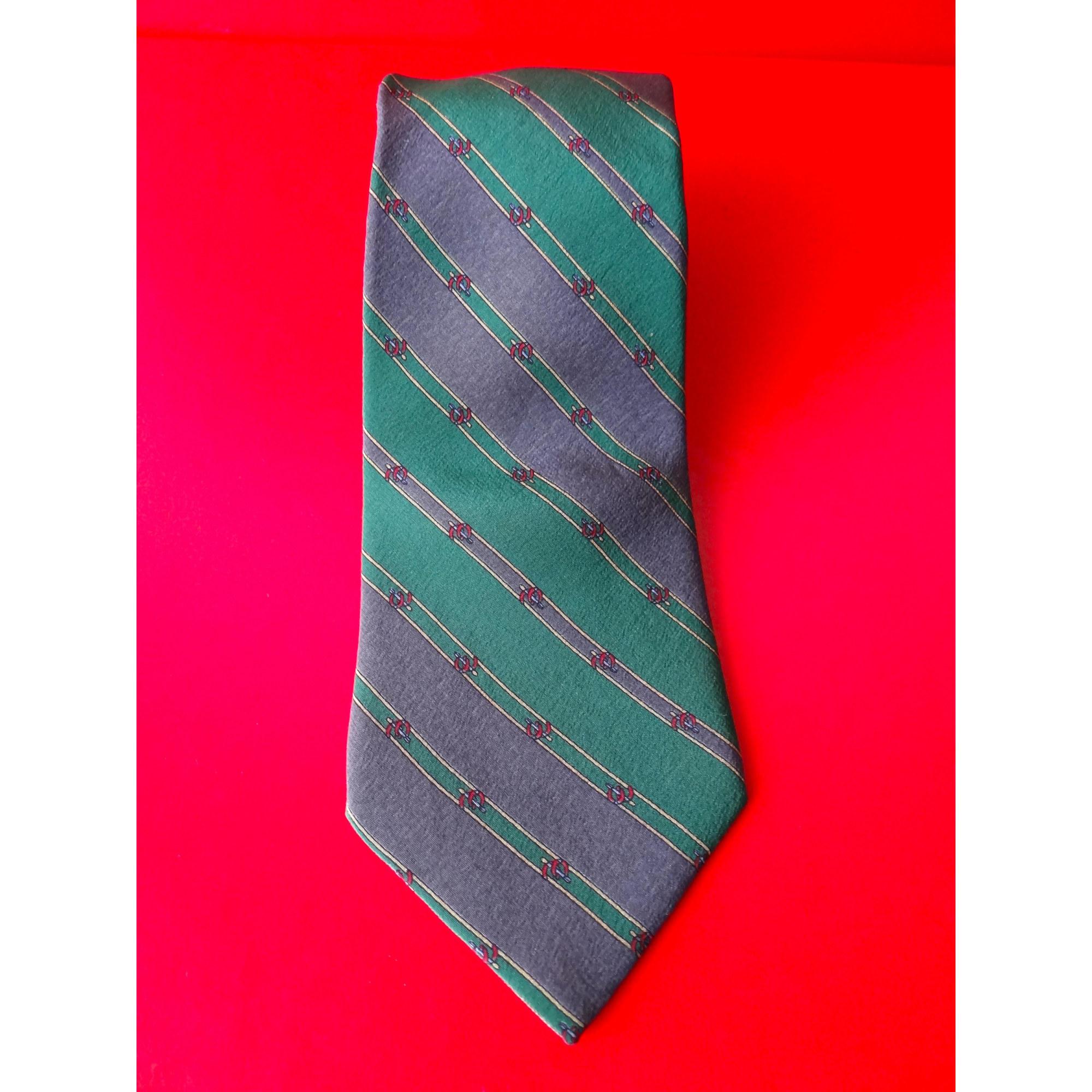 Cravate TED LAPIDUS Gris, anthracite