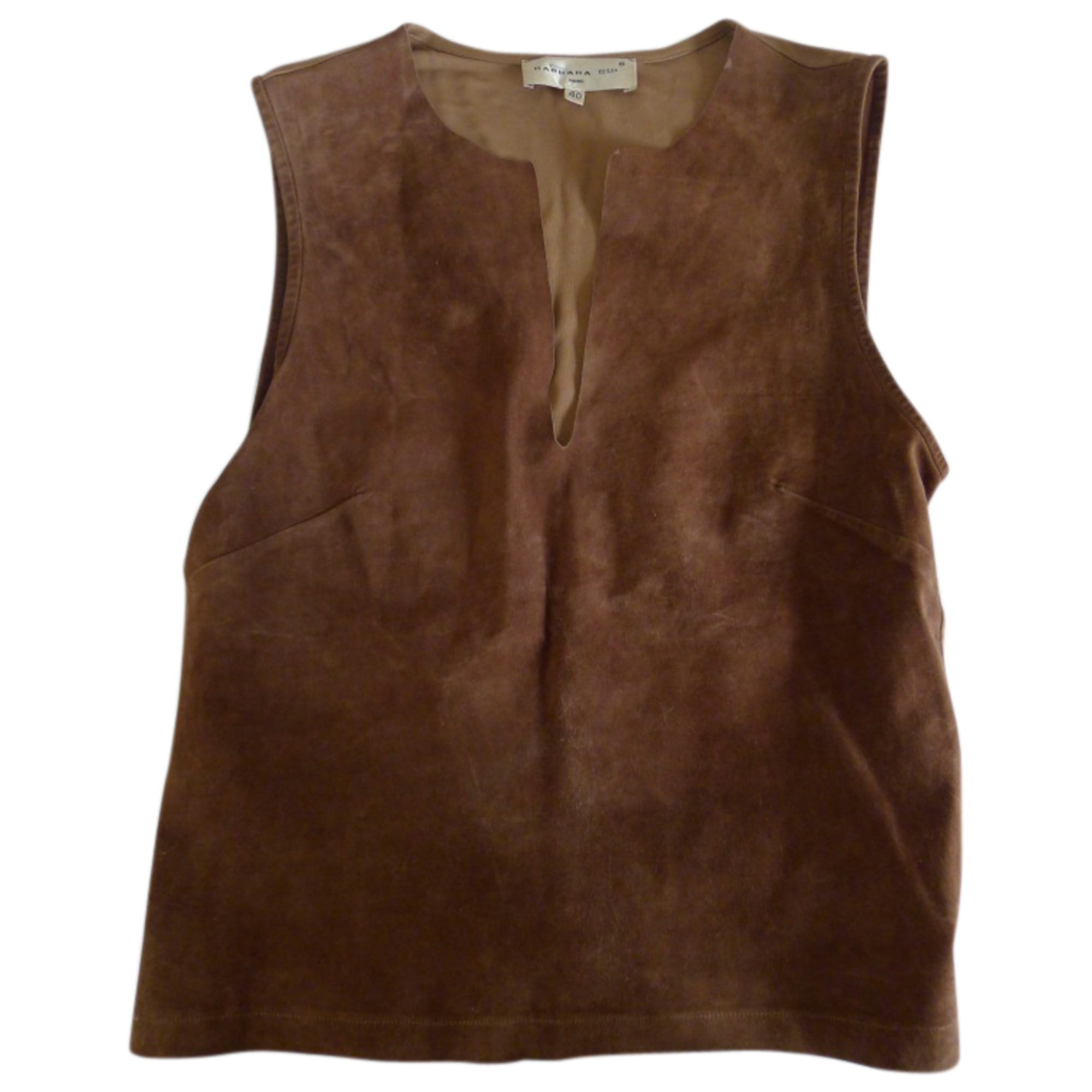Top, tee-shirt BARBARA BUI Marron