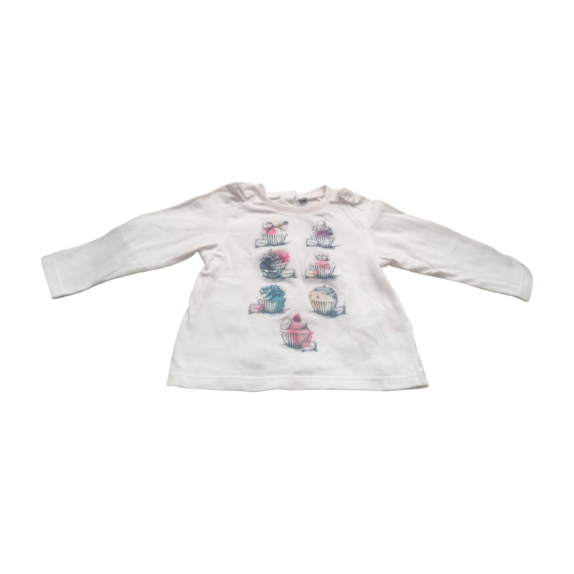 Top, tee shirt BABY DIOR Rose, fuschia, vieux rose