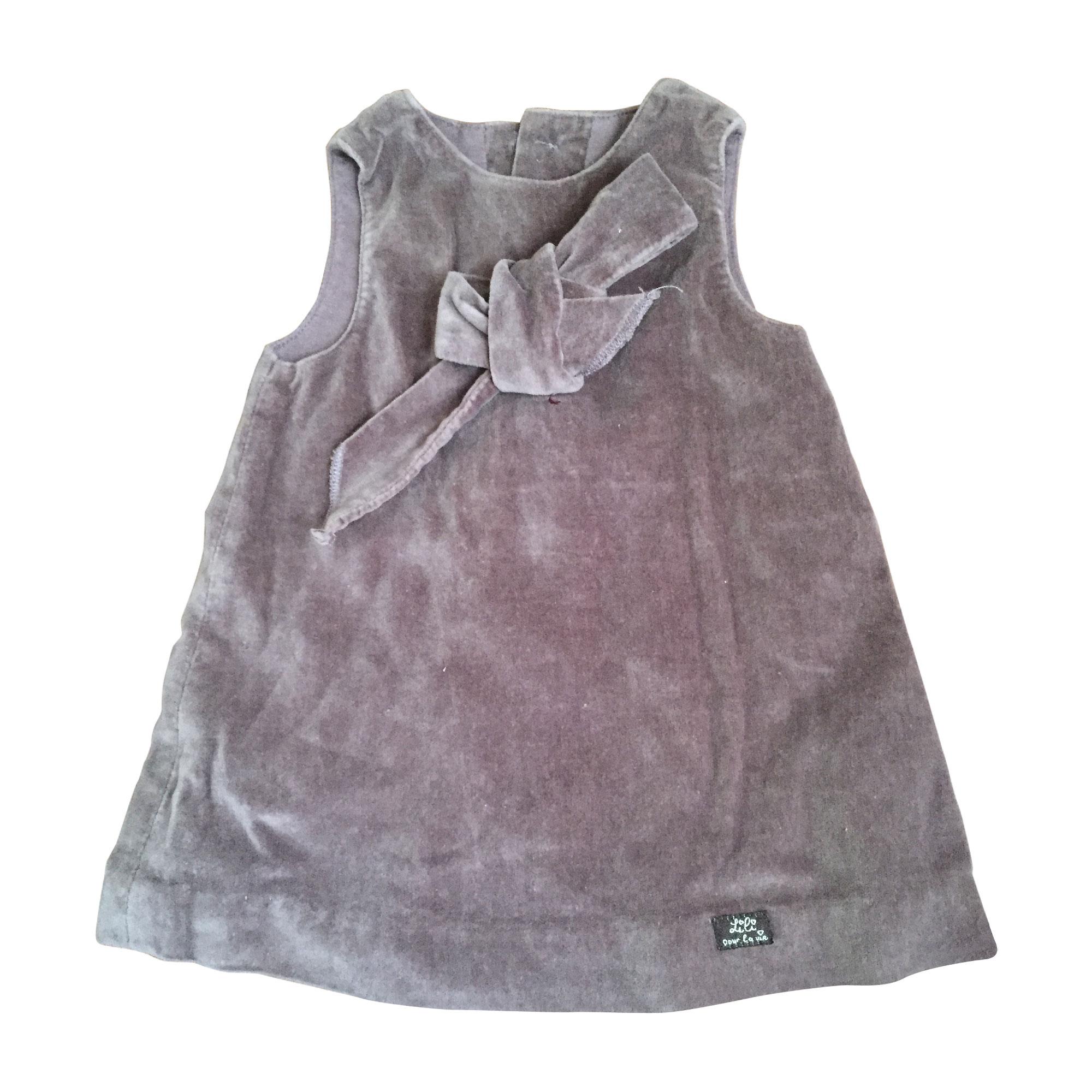 Robe LILI GAUFRETTE Violet, mauve, lavande