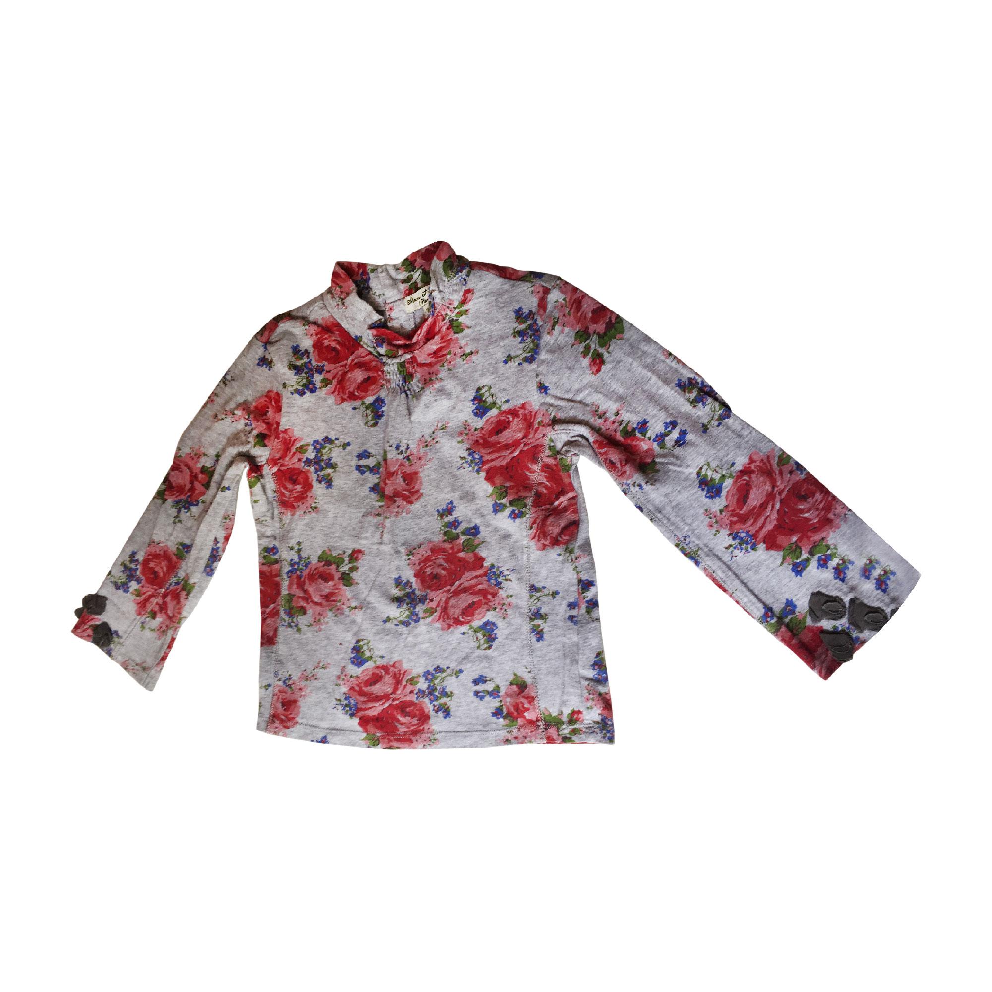 Top, Tee-shirt ELIANE ET LENA Gris, anthracite