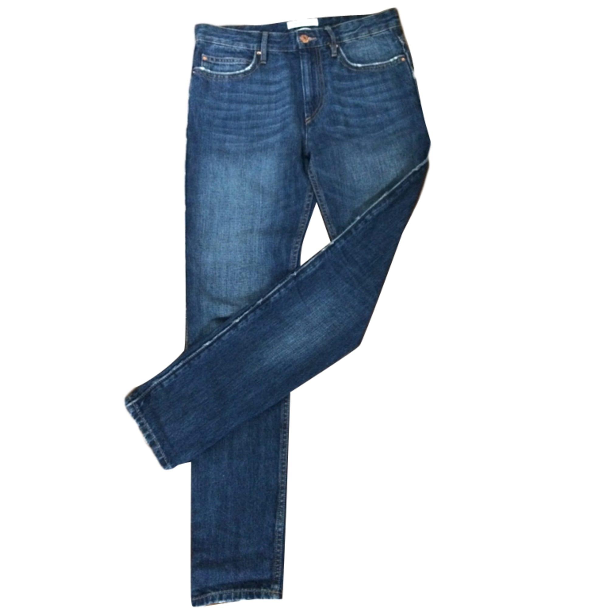 Jeans large, boyfriend ISABEL MARANT Bleu, bleu marine, bleu turquoise