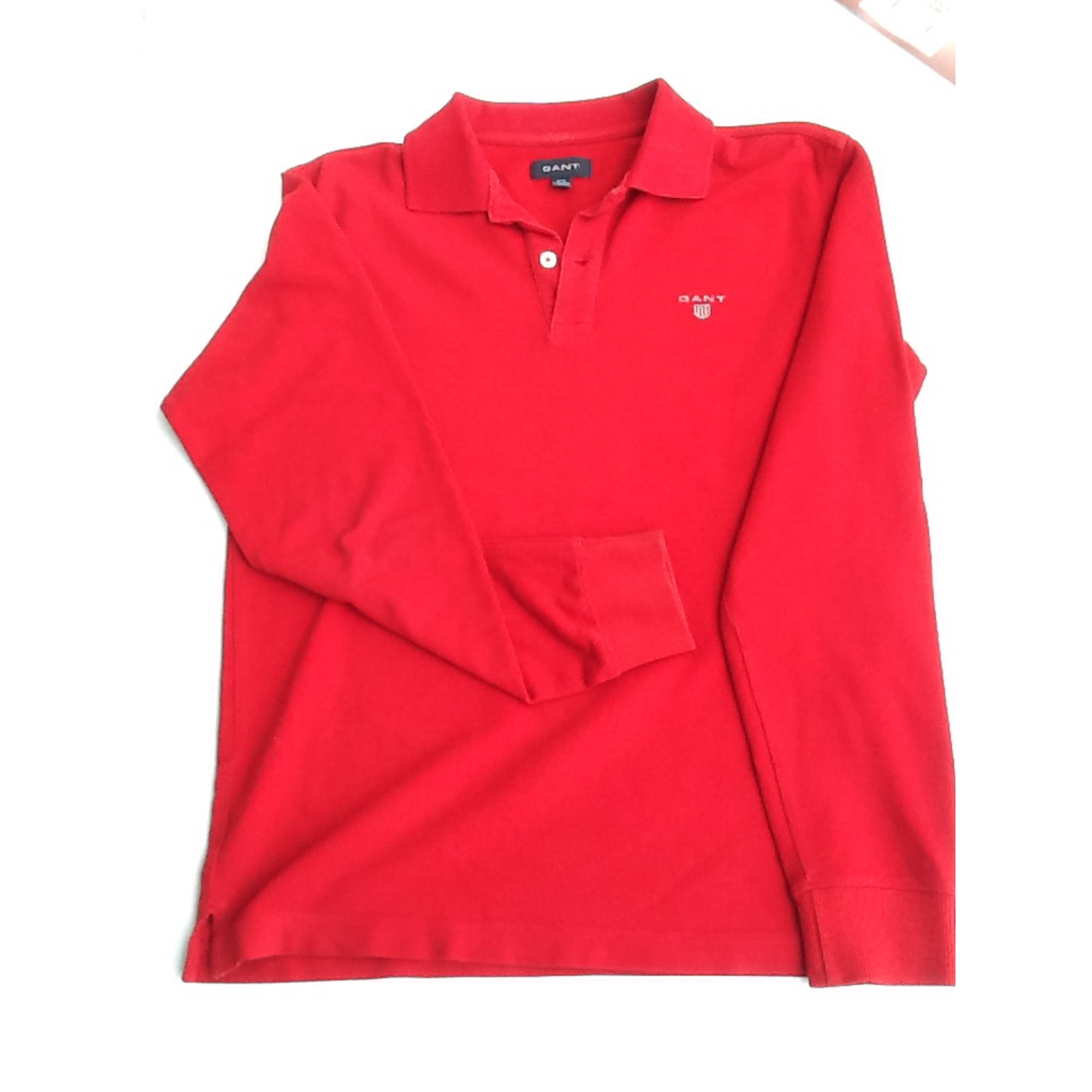 Polo GANT Rouge, bordeaux