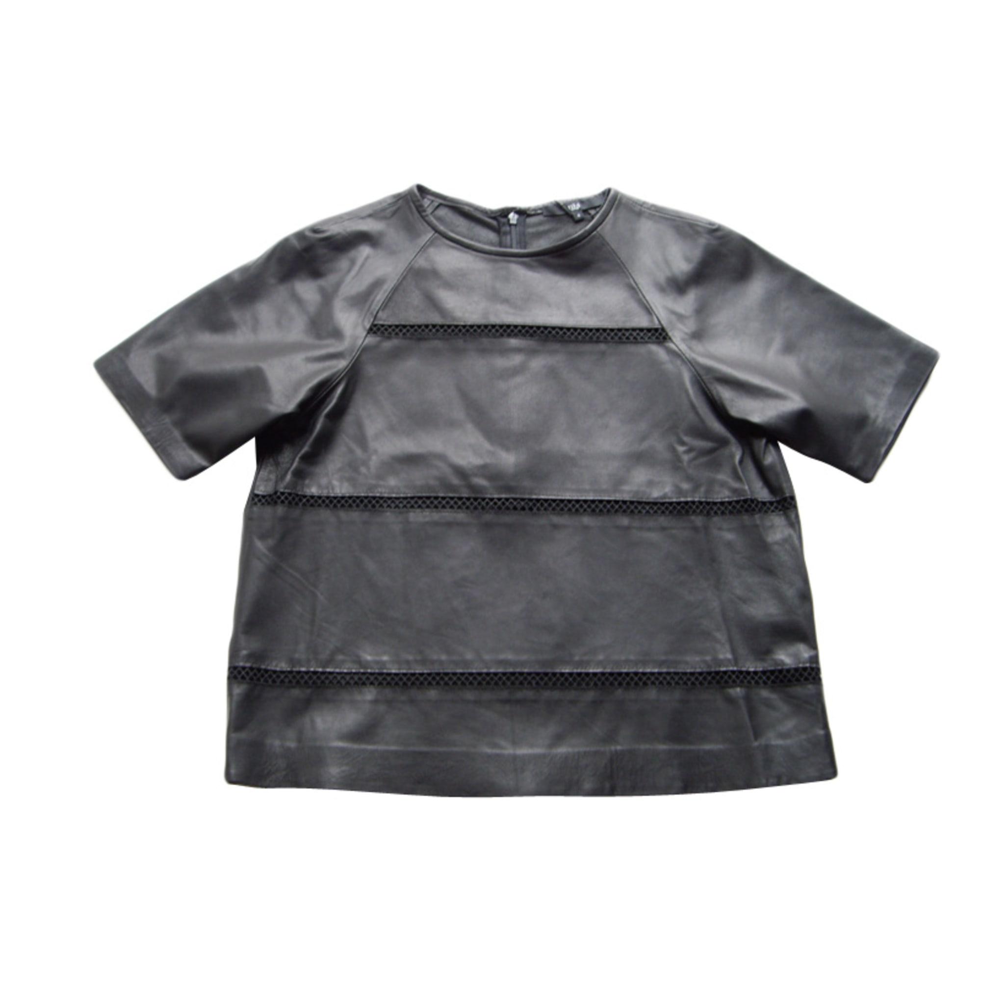 Top, tee-shirt TIBI Noir