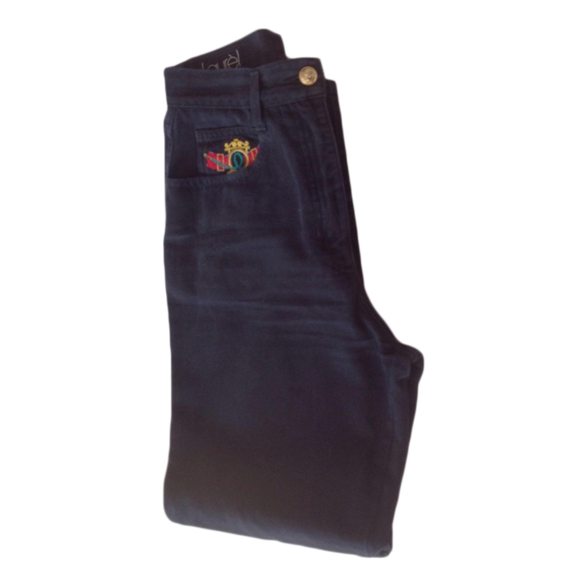 Pantalon droit LAURÈL Bleu, bleu marine, bleu turquoise
