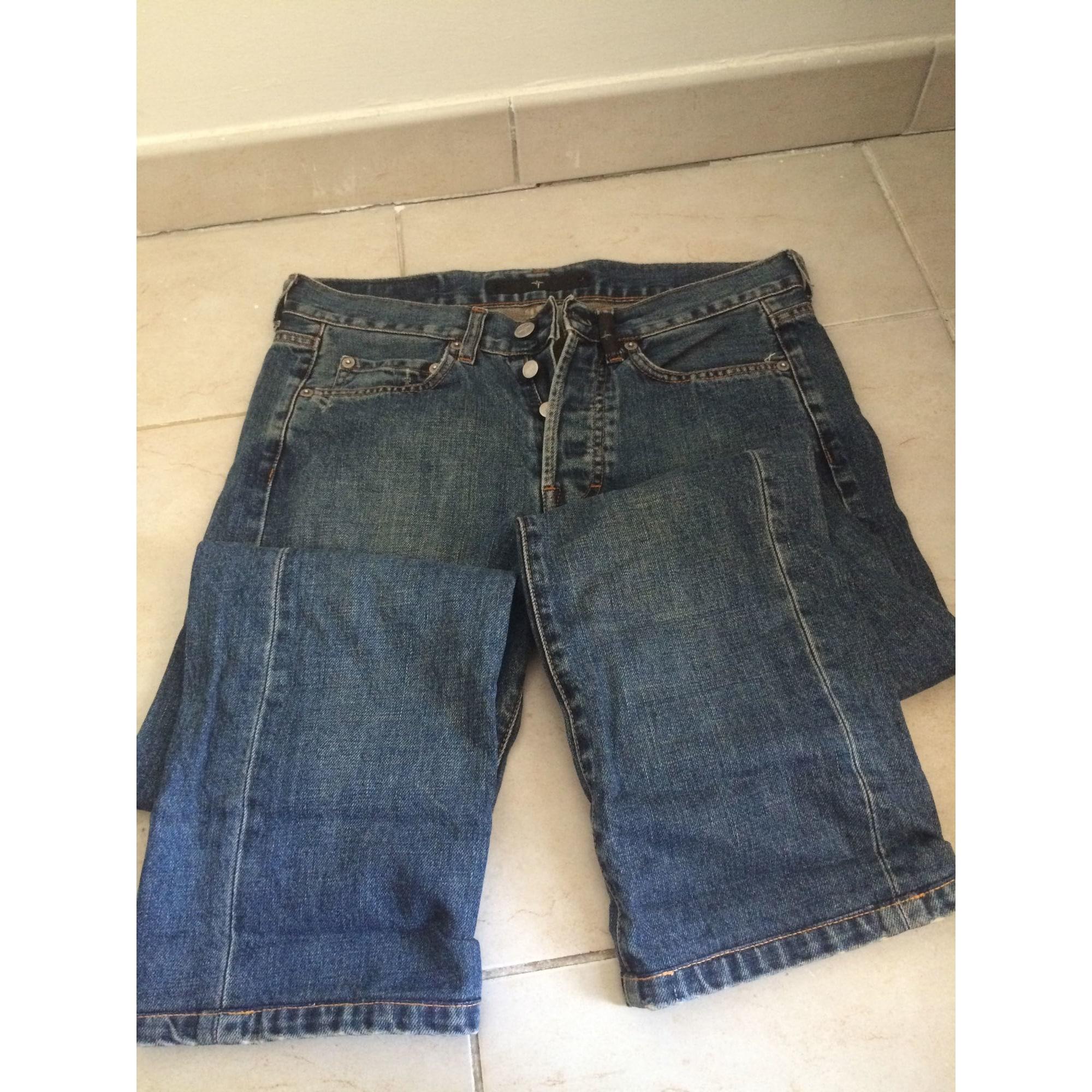 Jeans droit STONE ISLAND Bleu, bleu marine, bleu turquoise