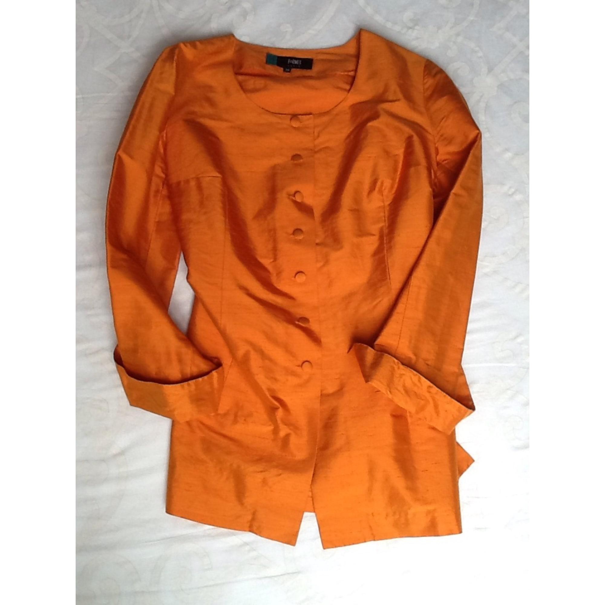 Veste Future Maman FORMES Orange