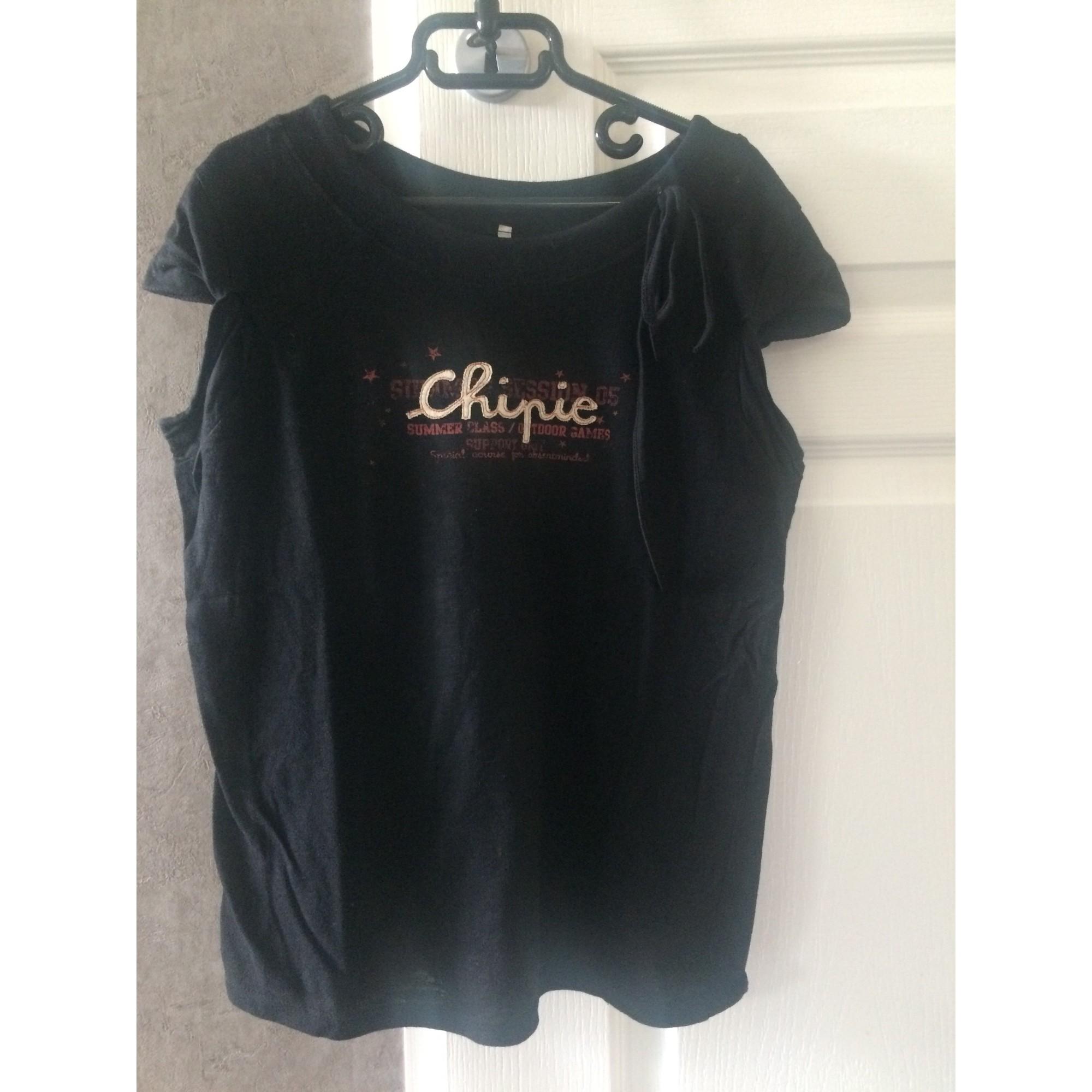 Top, Tee-shirt CHIPIE Noir