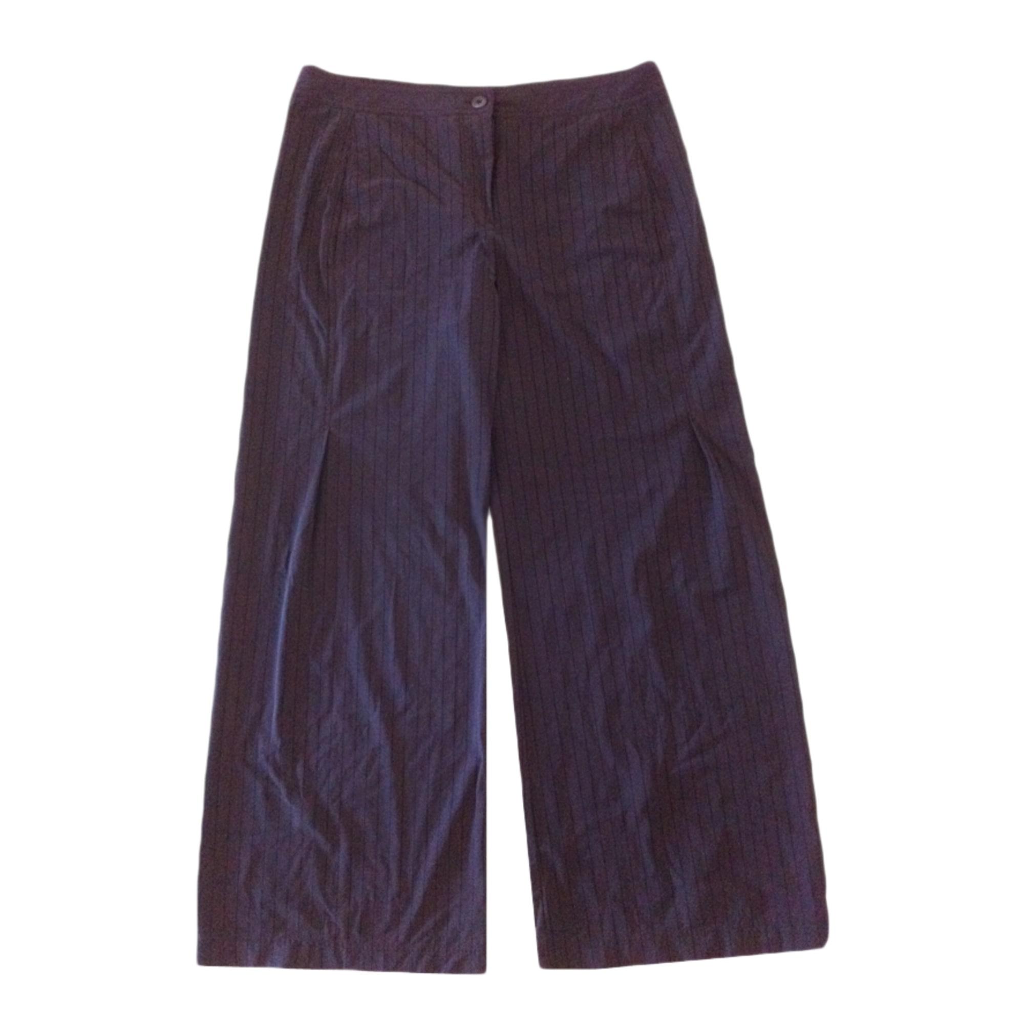 Pantalon large INDIES Marron
