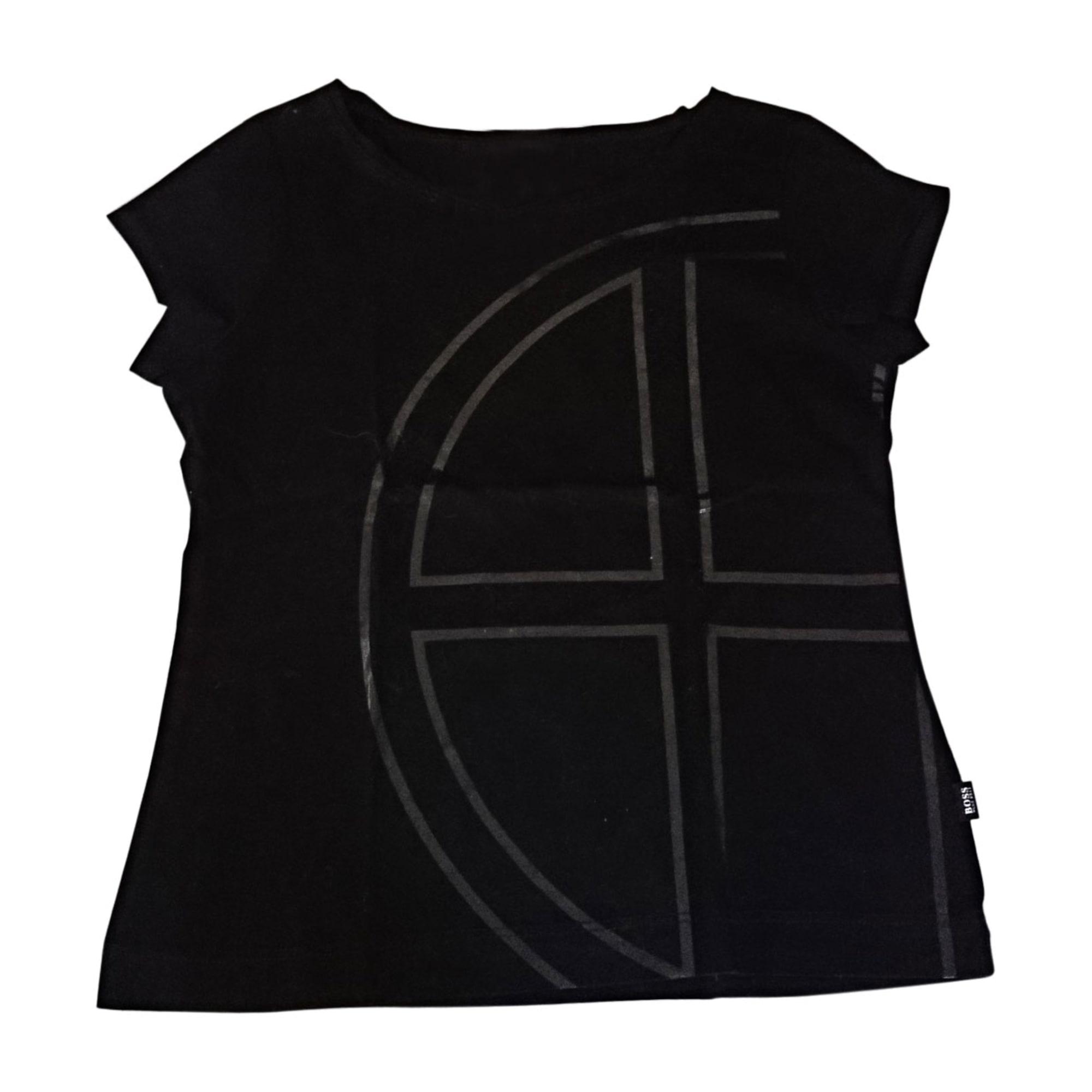 Top, Tee-shirt HUGO BOSS Noir