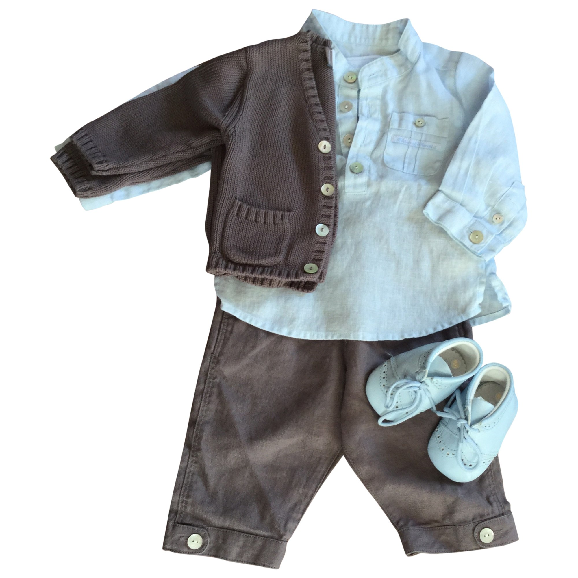 Ensemble & Combinaison pantalon TARTINE ET CHOCOLAT Marron