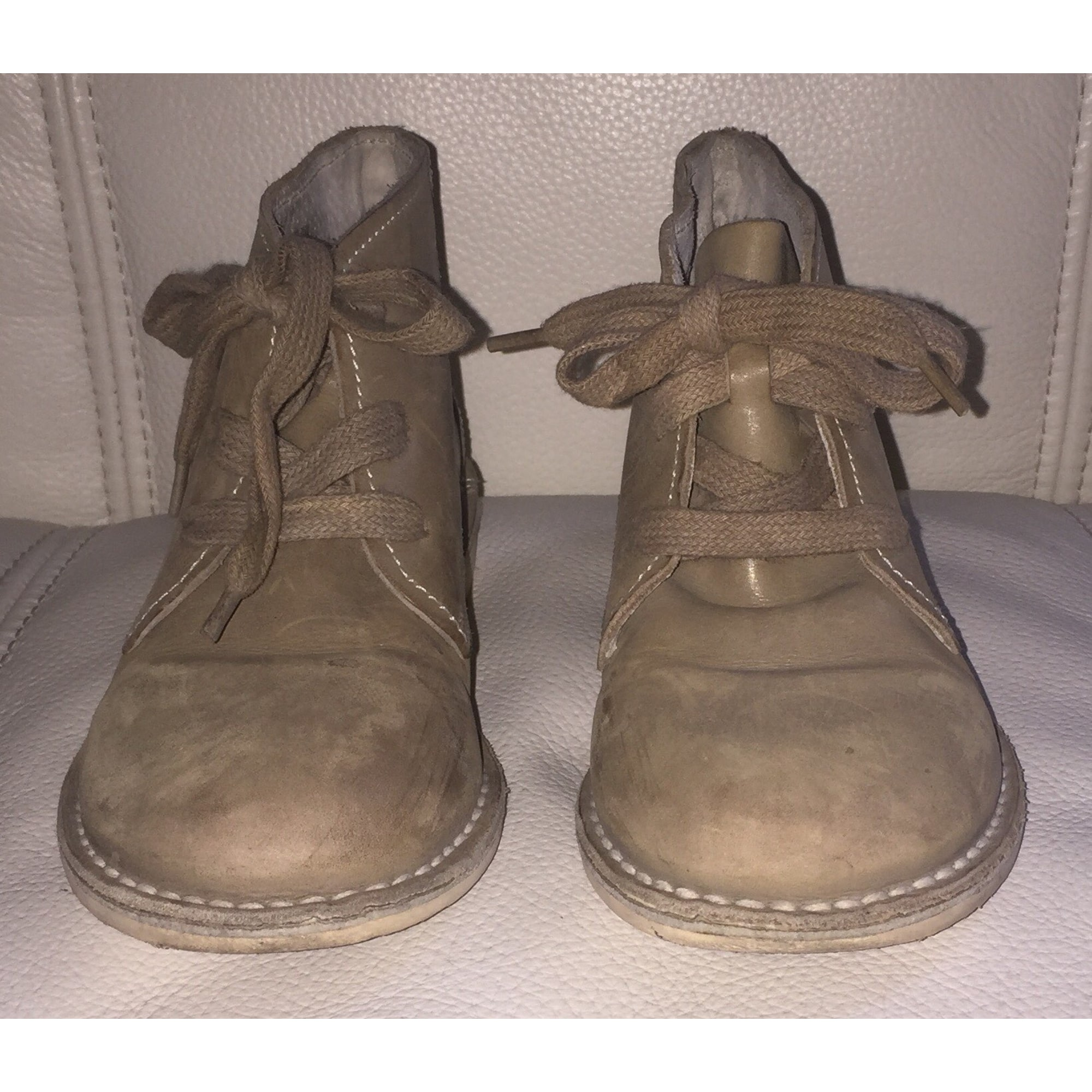 Chaussures à lacets IKKS Beige, camel