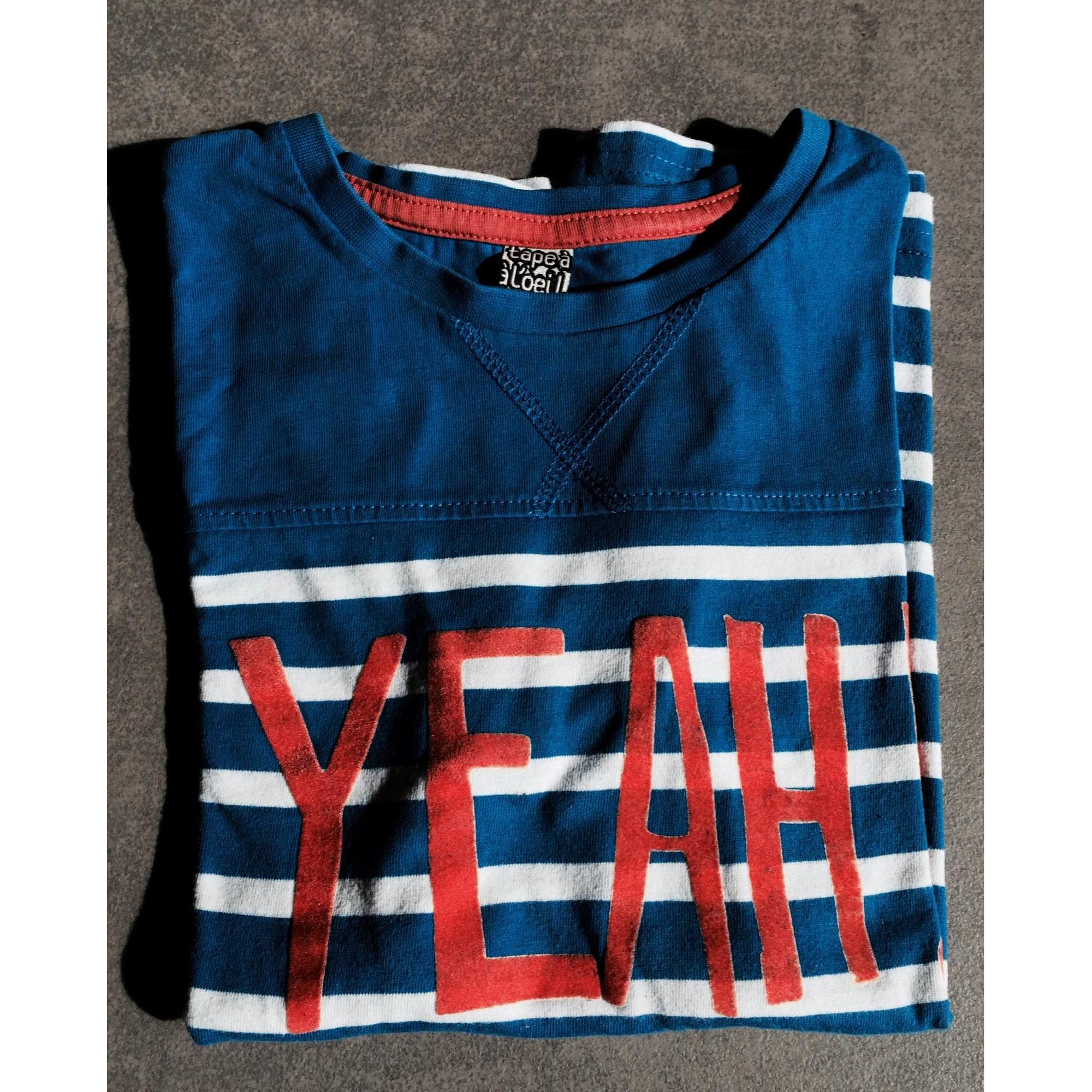 Tee-shirt TAPE À L'OEIL Voir details et photos