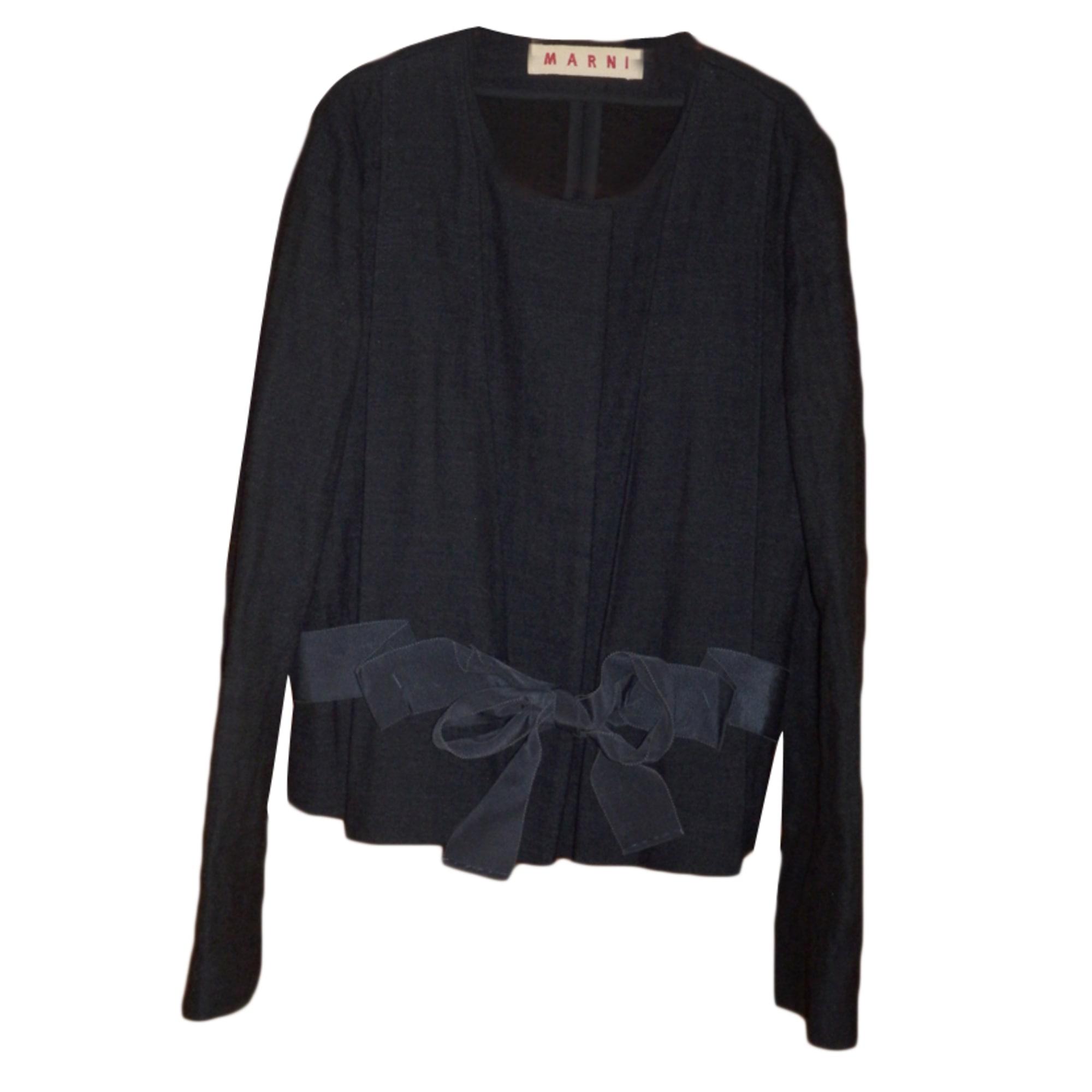 Blazer, veste tailleur MARNI Noir