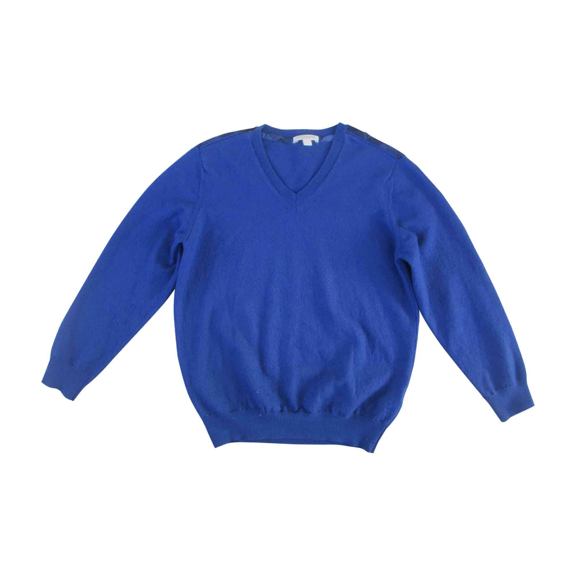 Pull BURBERRY Bleu, bleu marine, bleu turquoise